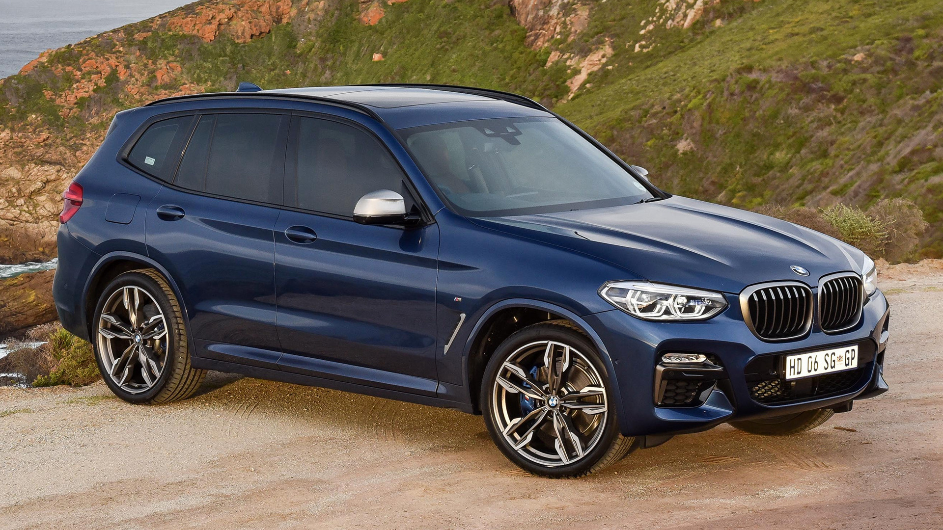 bmw x3 m40i 2017 za wallpapers and hd images car pixel. Black Bedroom Furniture Sets. Home Design Ideas