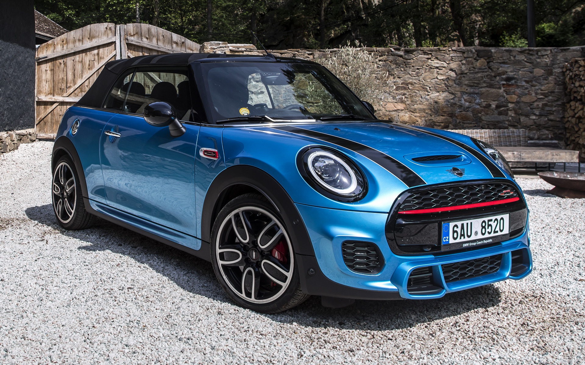 2018 Mini John Cooper Works Cabrio Wallpapers And Hd Images Car