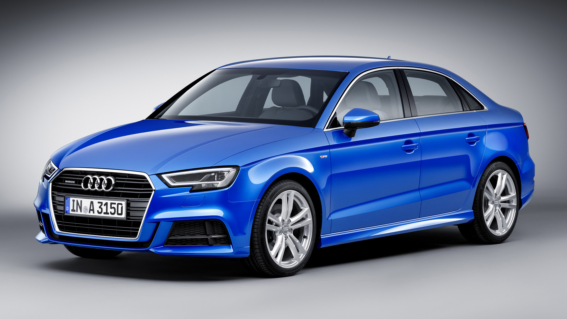 audi a3 sedan s line 2016 wallpapers and hd images car pixel. Black Bedroom Furniture Sets. Home Design Ideas