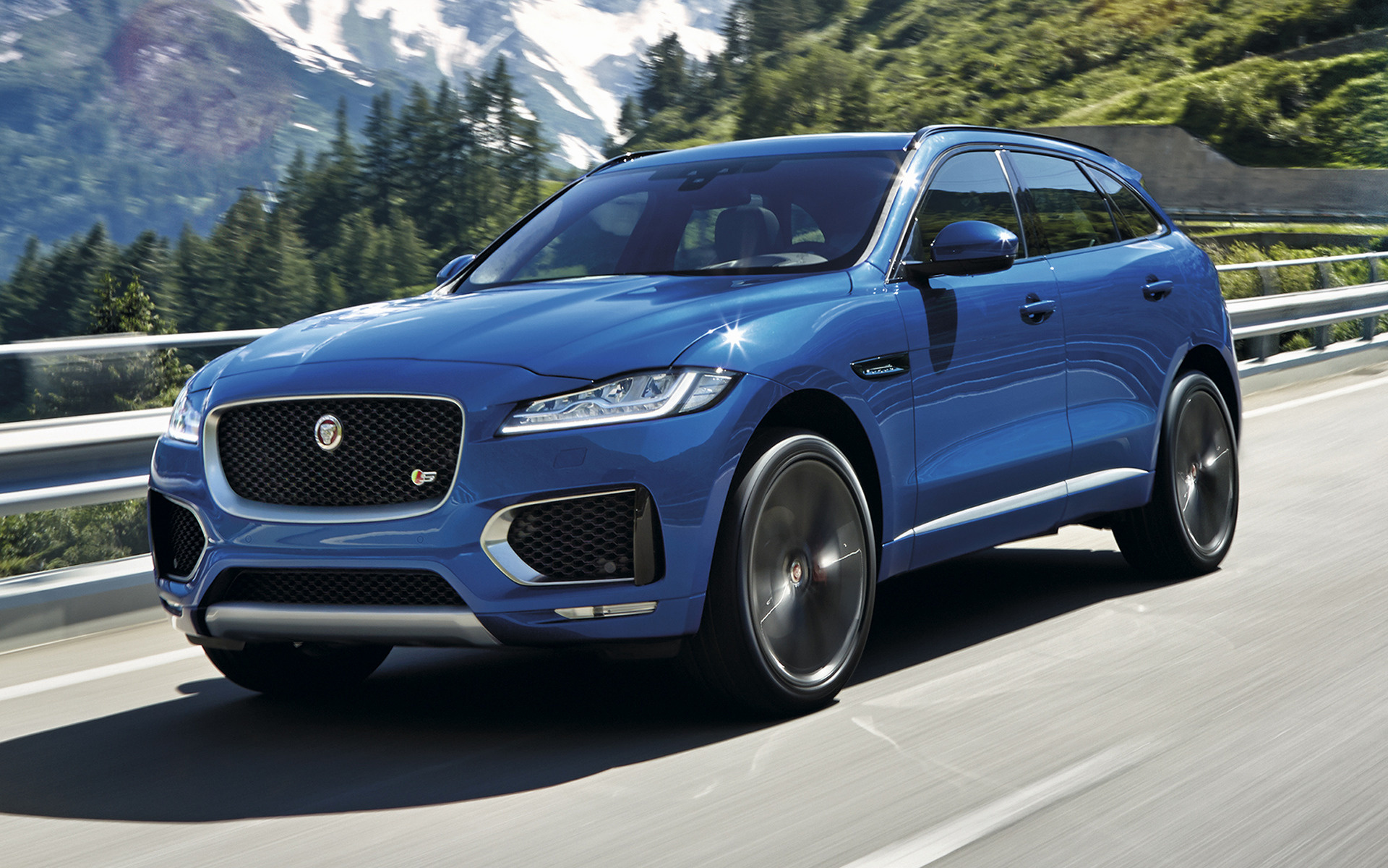 jaguar f pace s 2016 wallpapers and hd images car pixel. Black Bedroom Furniture Sets. Home Design Ideas