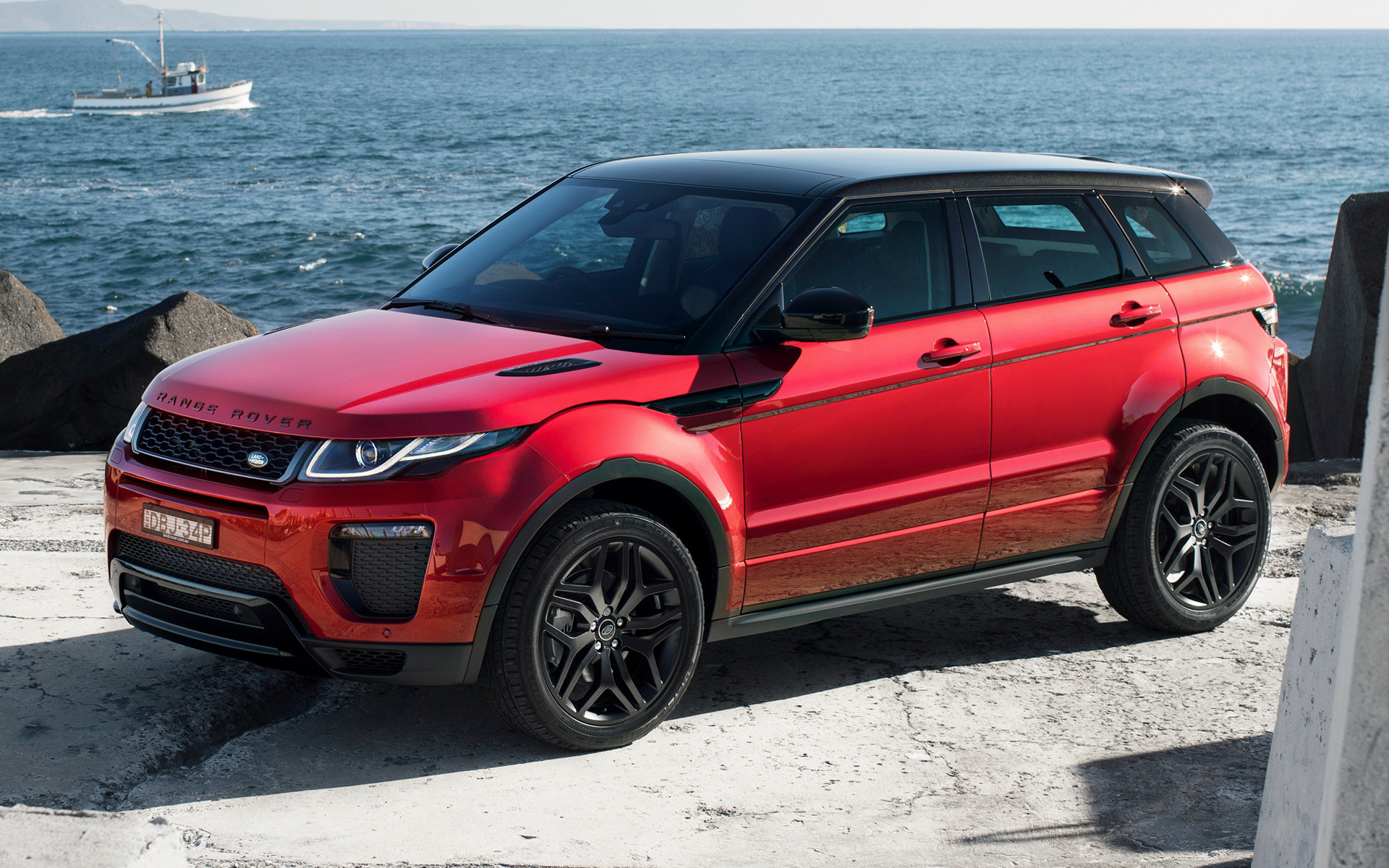 Range Rover Convertible >> 2015 Range Rover Evoque HSE Dynamic (AU) - Wallpapers and ...