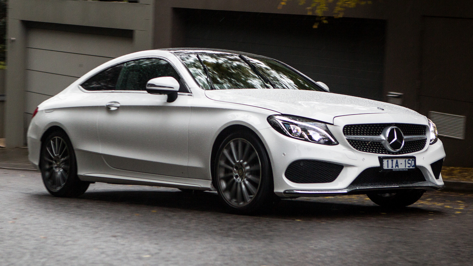 Mercedes benz c class coupe amg line 2016 au wallpapers and hd images car pixel - Mercedes benz c class coupe amg ...