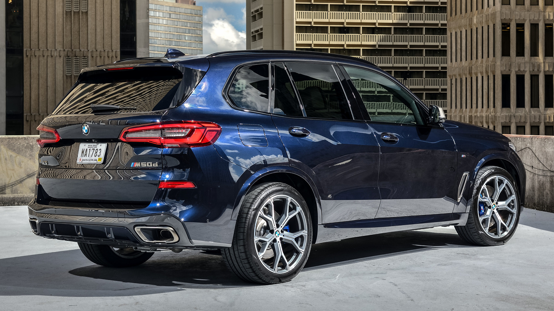2018 BMW X5 M50d - Wallpapers and HD Images | Car Pixel