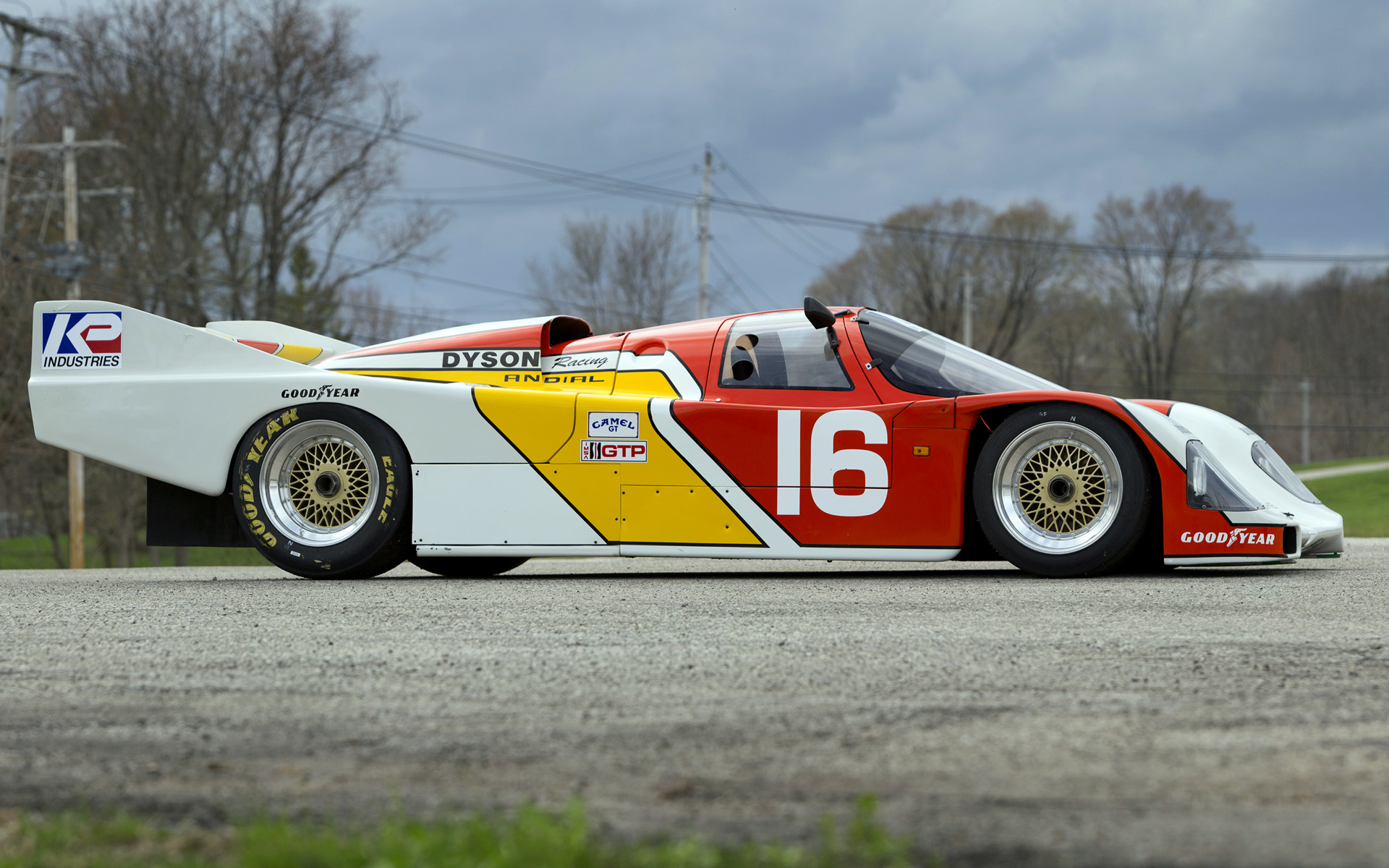 Porsche 962 122 1986 Wallpapers And Hd Images Car Pixel