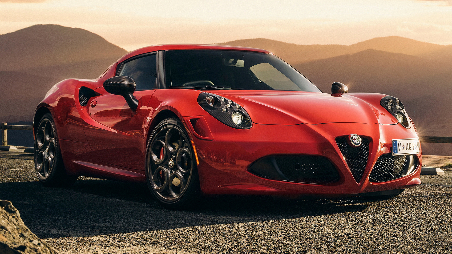 Alfa Romeo C Launch Edition Wallpaper Hd