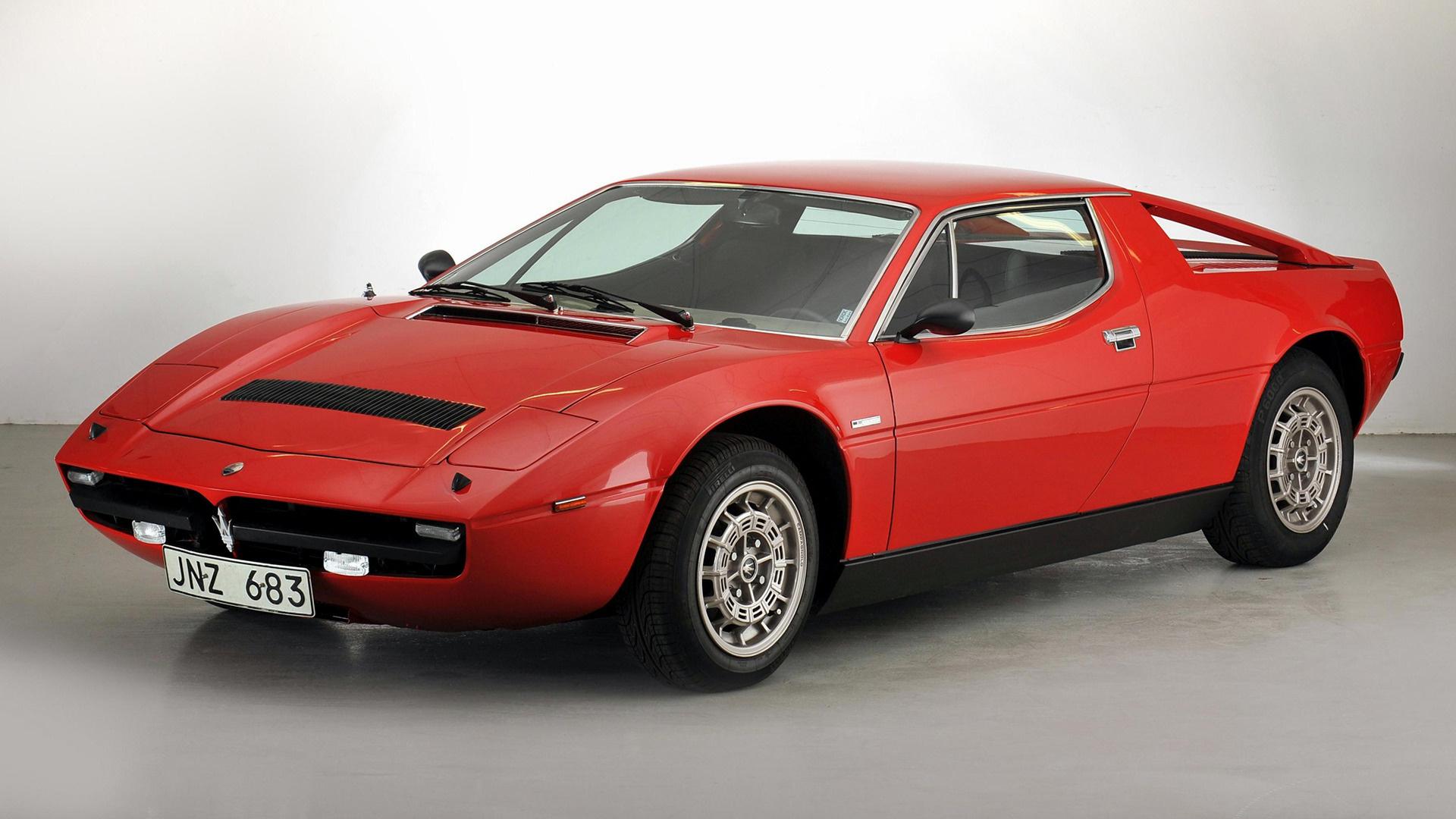 1975 Maserati Merak SS - Fonds d'écran et images HD | Car ...