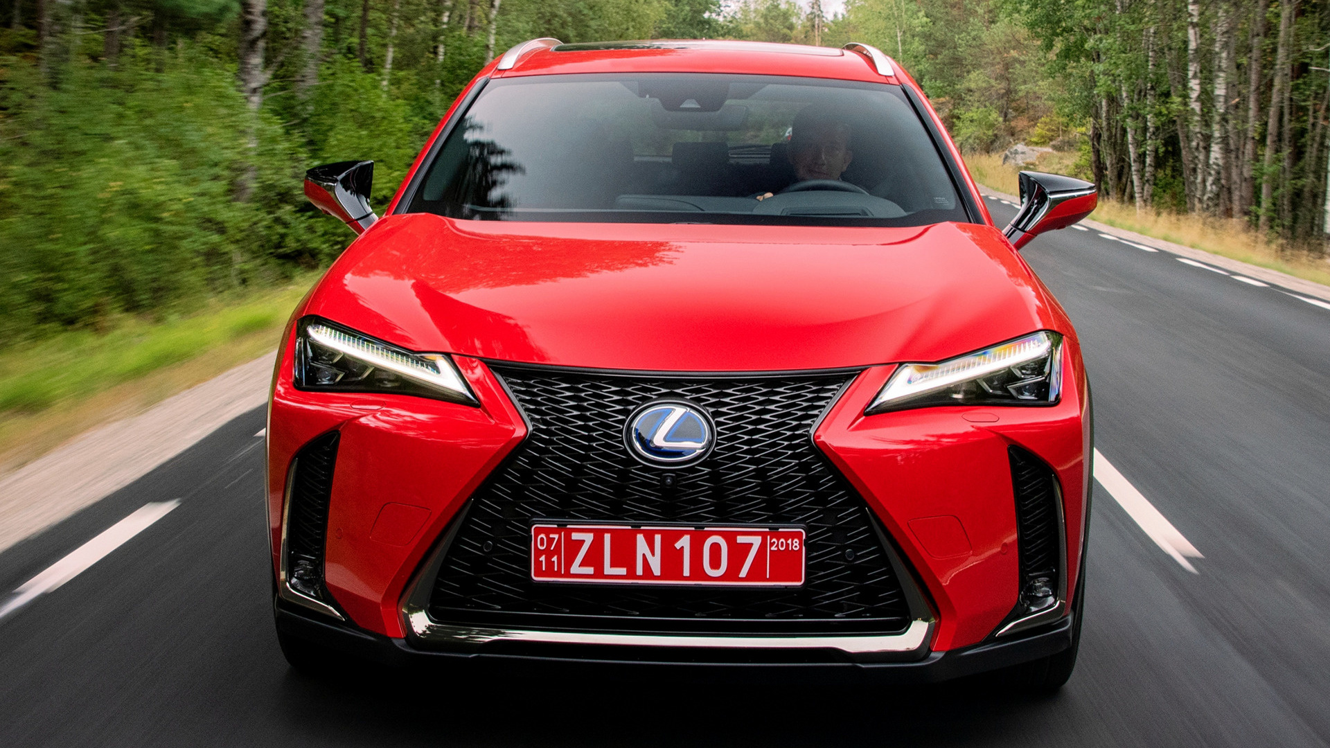 Mazda 6 Sport >> 2018 Lexus UX Hybrid F Sport - Wallpapers and HD Images ...