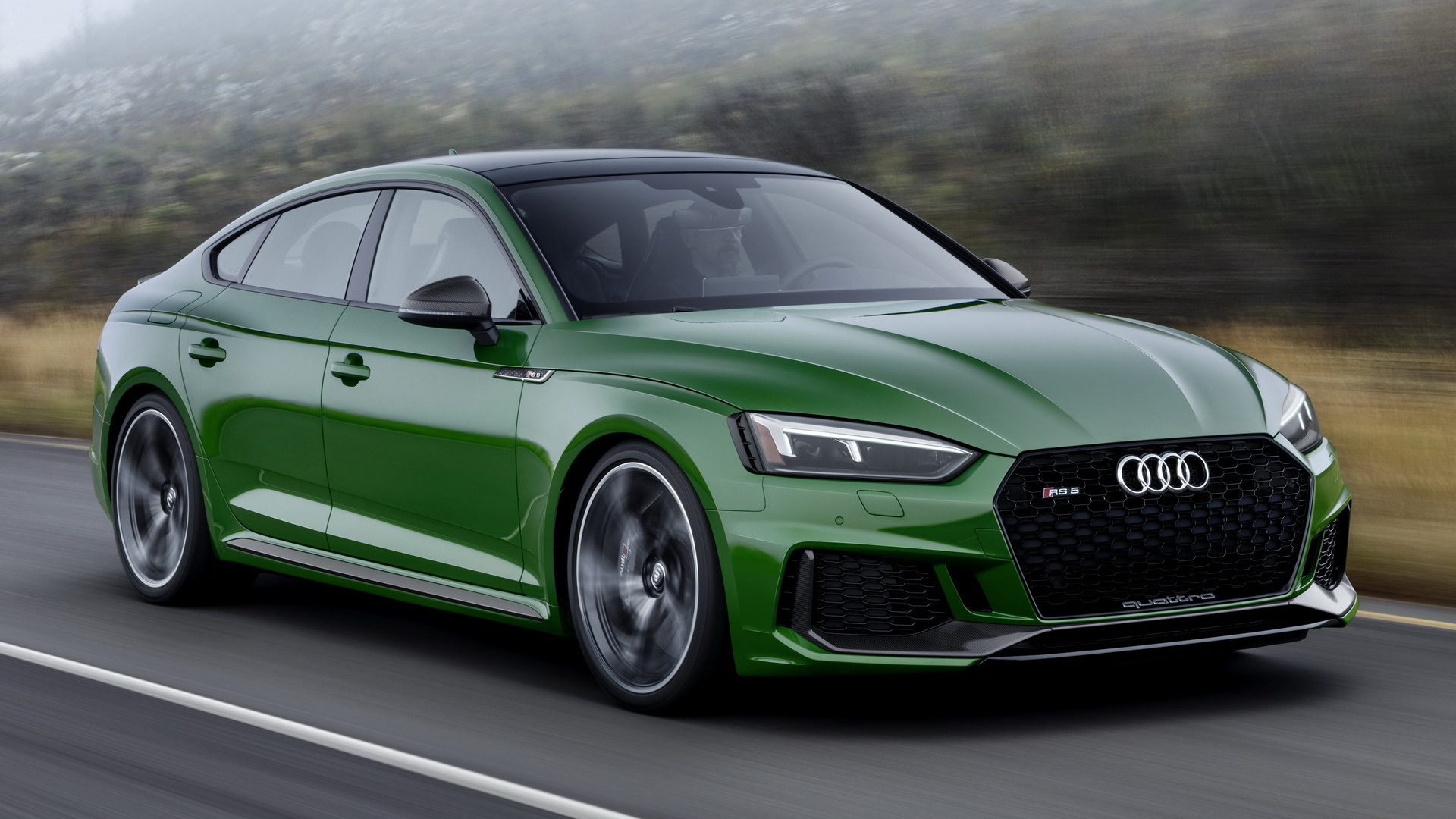 Land Rover Sport >> 2019 Audi RS 5 Sportback (US) - Wallpapers and HD Images | Car Pixel