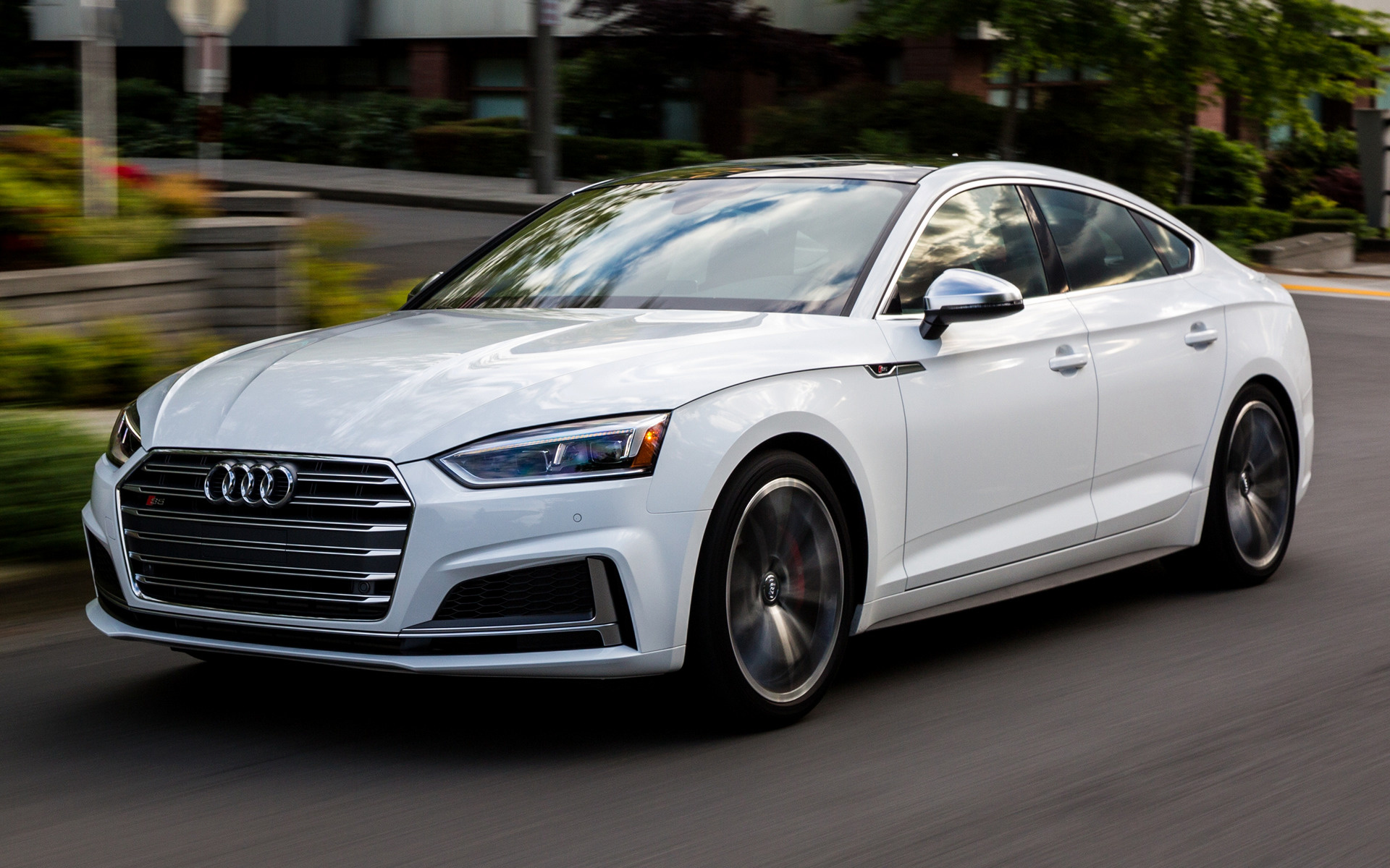 2018 Hyundai Genesis Coupe >> 2018 Audi S5 Sportback (US) - Wallpapers and HD Images ...