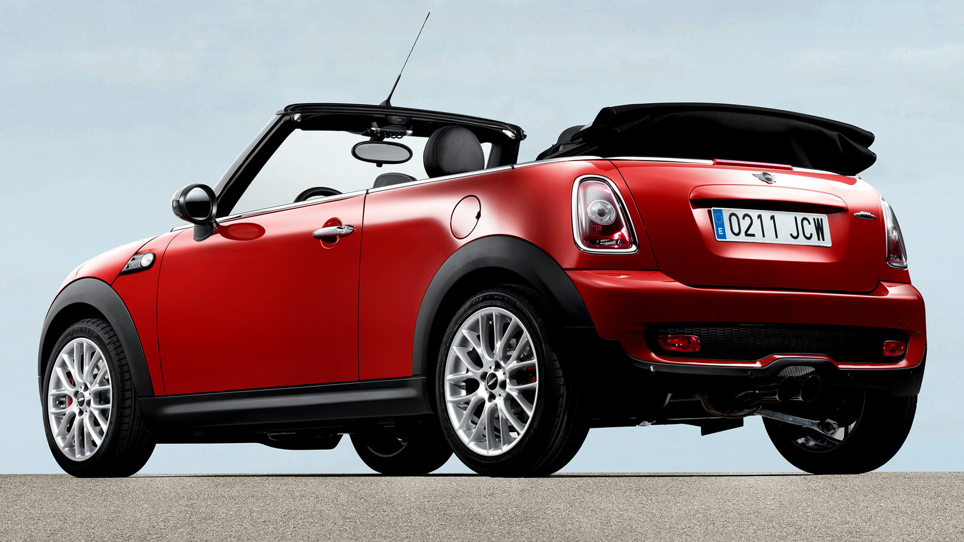 mini john cooper works cabrio 2009 wallpapers and hd. Black Bedroom Furniture Sets. Home Design Ideas
