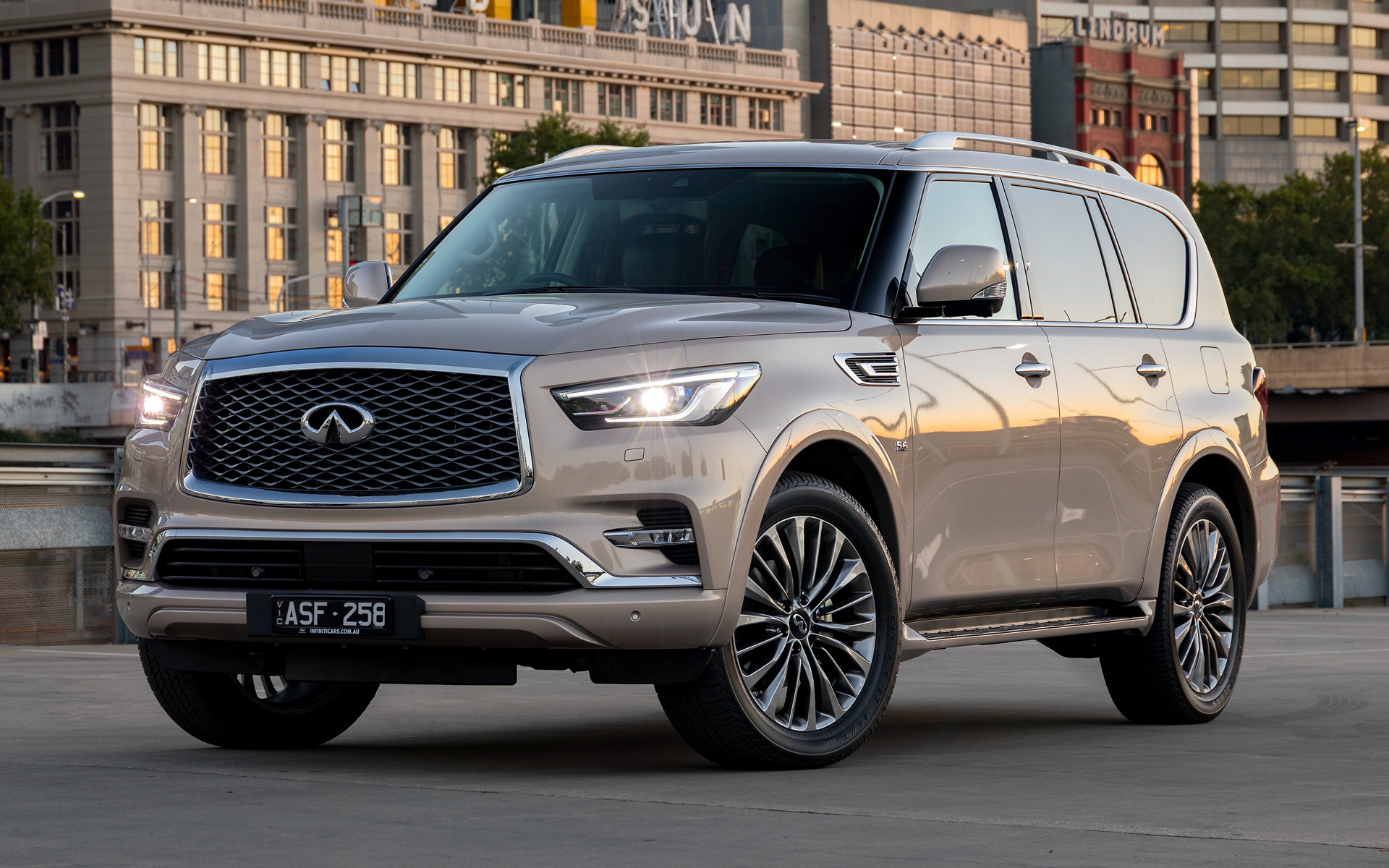 2018 Infiniti Qx80 Au Wallpapers And Hd Images Car Pixel