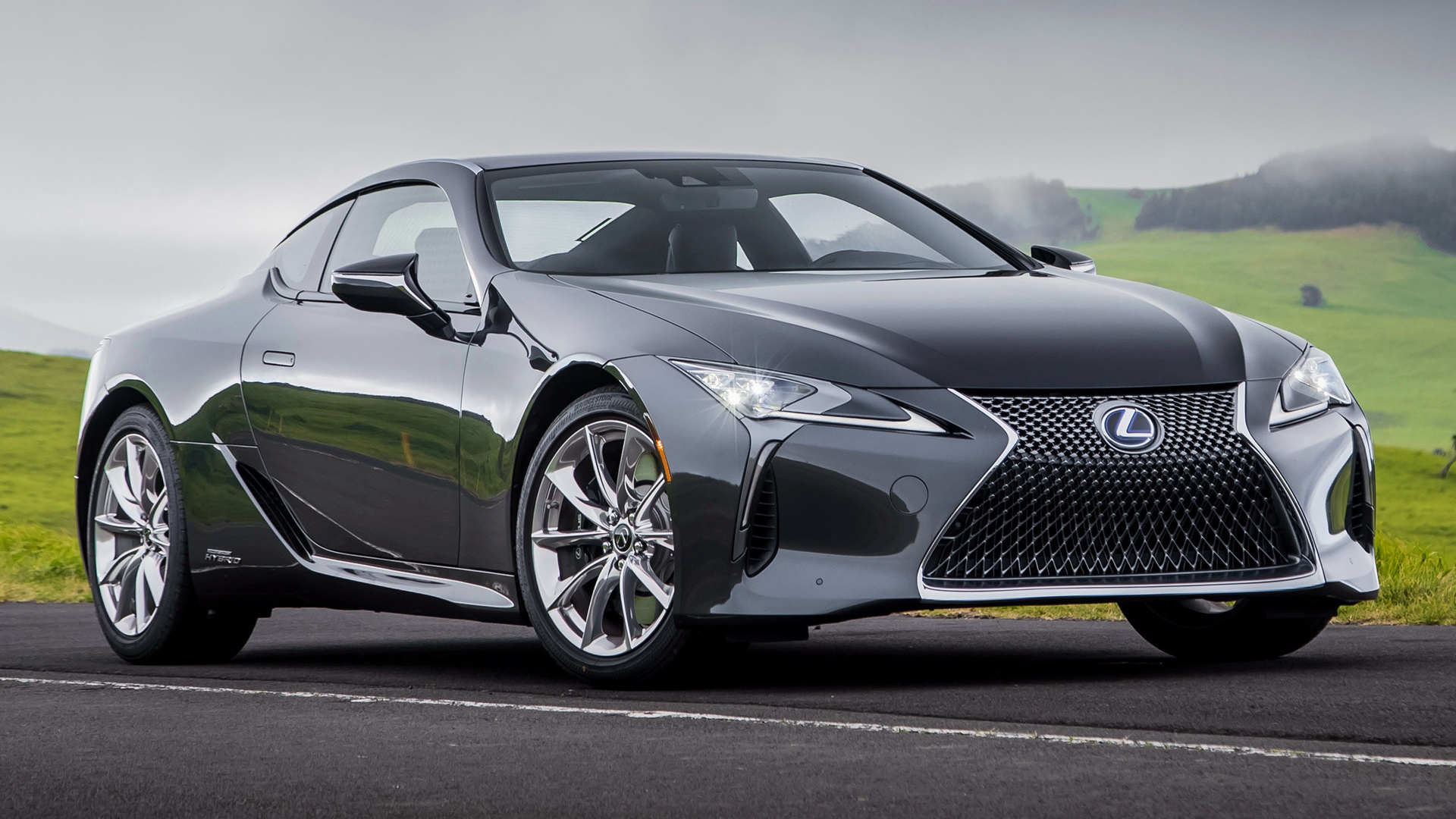 2018 Lexus LC Hybrid (US) - Wallpapers And HD Images