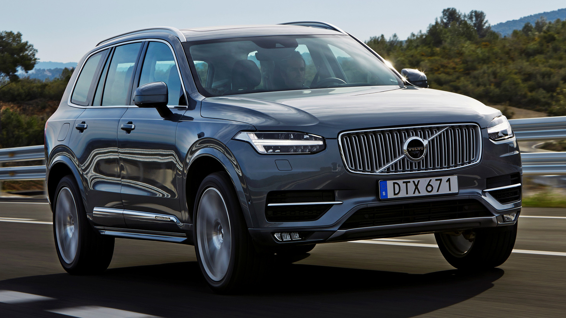 volvo xc90 inscription 2015 wallpapers and hd images car pixel. Black Bedroom Furniture Sets. Home Design Ideas