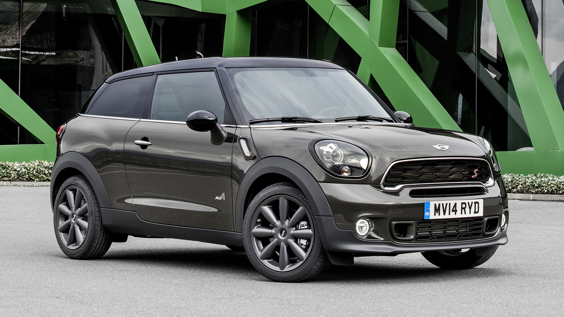 mini cooper s paceman 2014 wallpapers and hd images car pixel. Black Bedroom Furniture Sets. Home Design Ideas