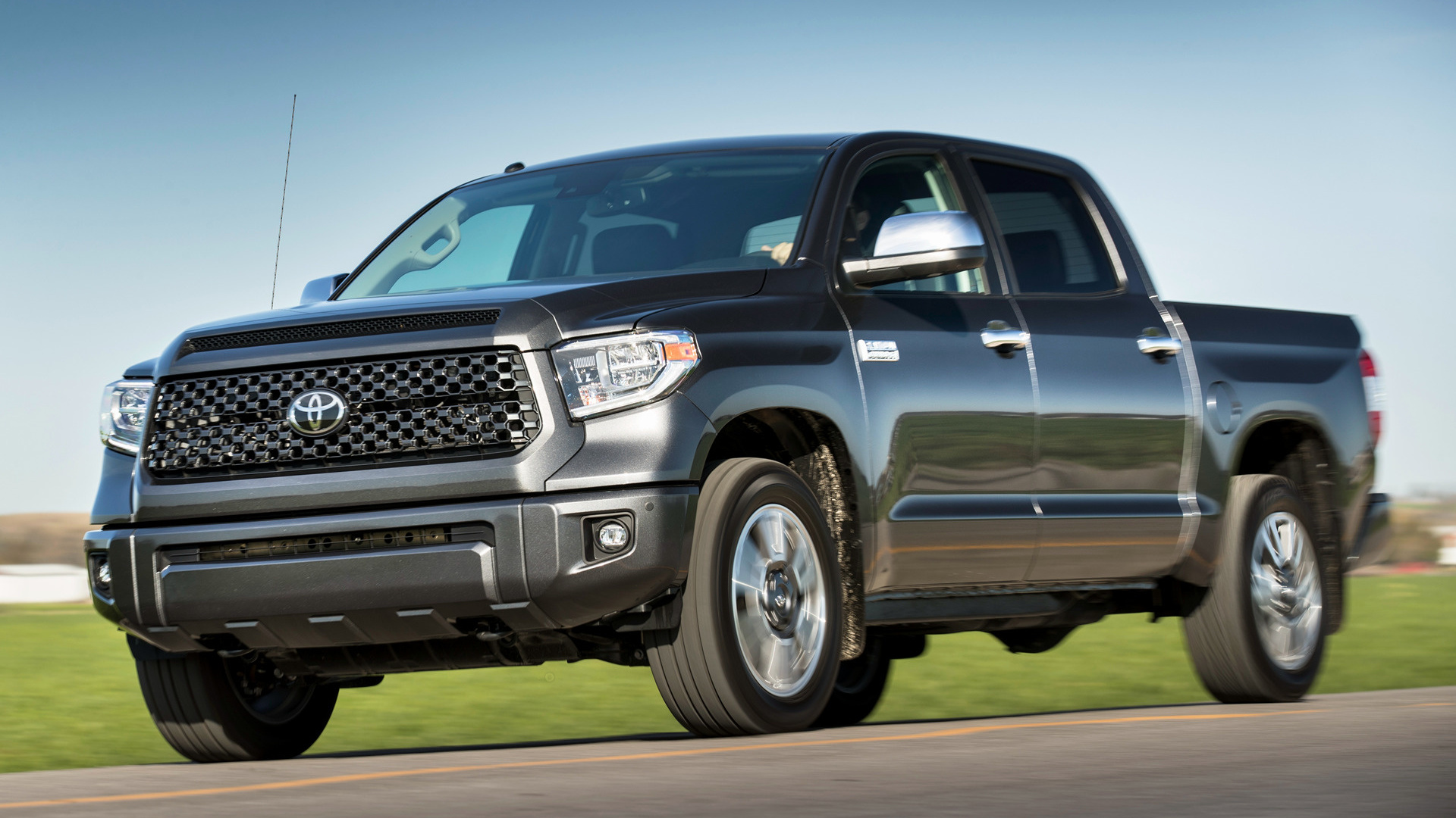 2018 Toyota Tundra Platinum Crewmax Wallpapers And Hd