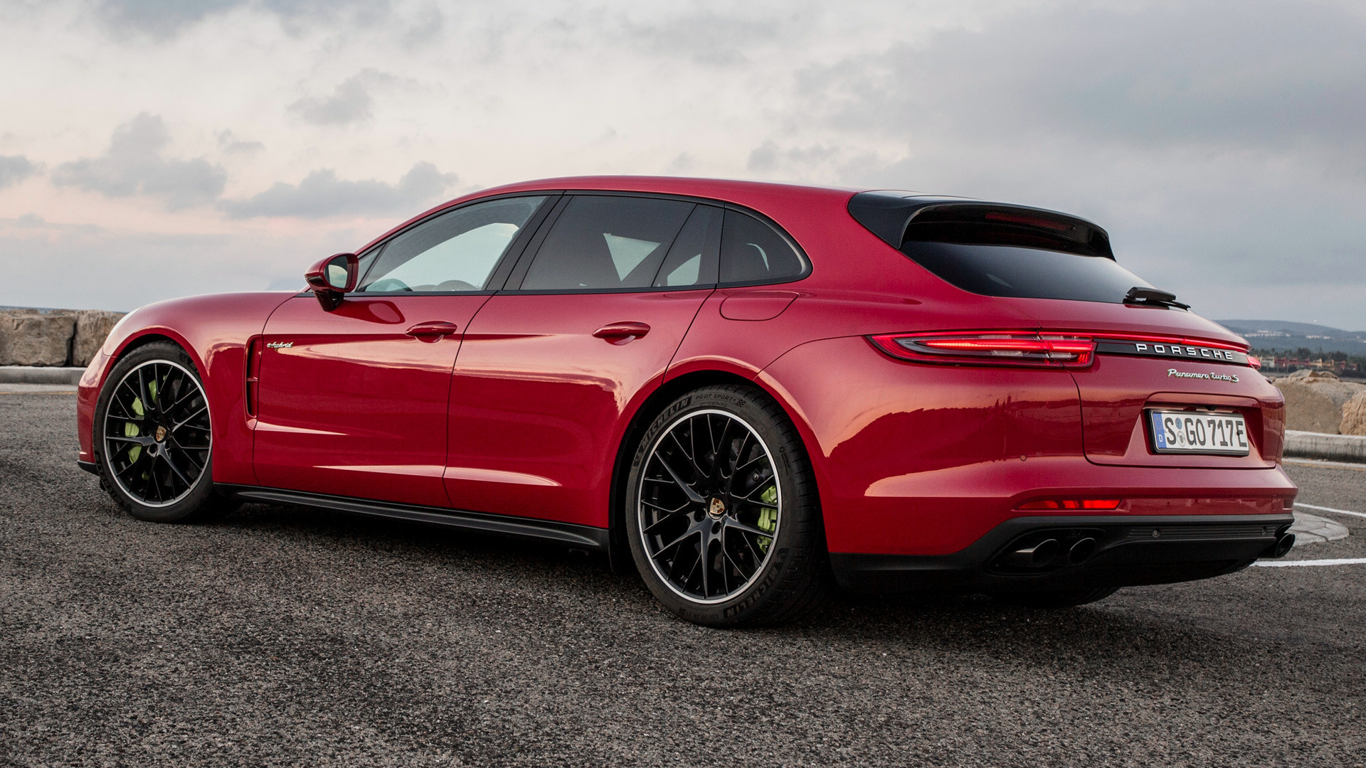 2017 porsche panamera turbo s e hybrid sport turismo wallpapers and hd images car pixel. Black Bedroom Furniture Sets. Home Design Ideas