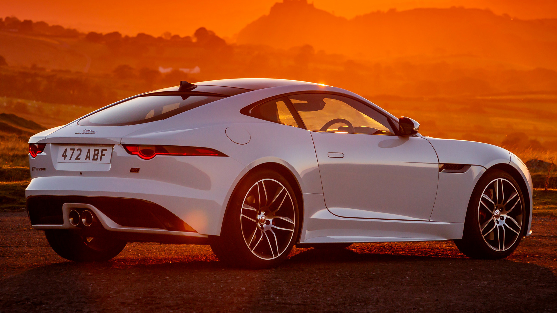 Jaguar F Type Coupe >> 2018 Jaguar F-Type Coupe Chequered Flag (UK) - Wallpapers ...