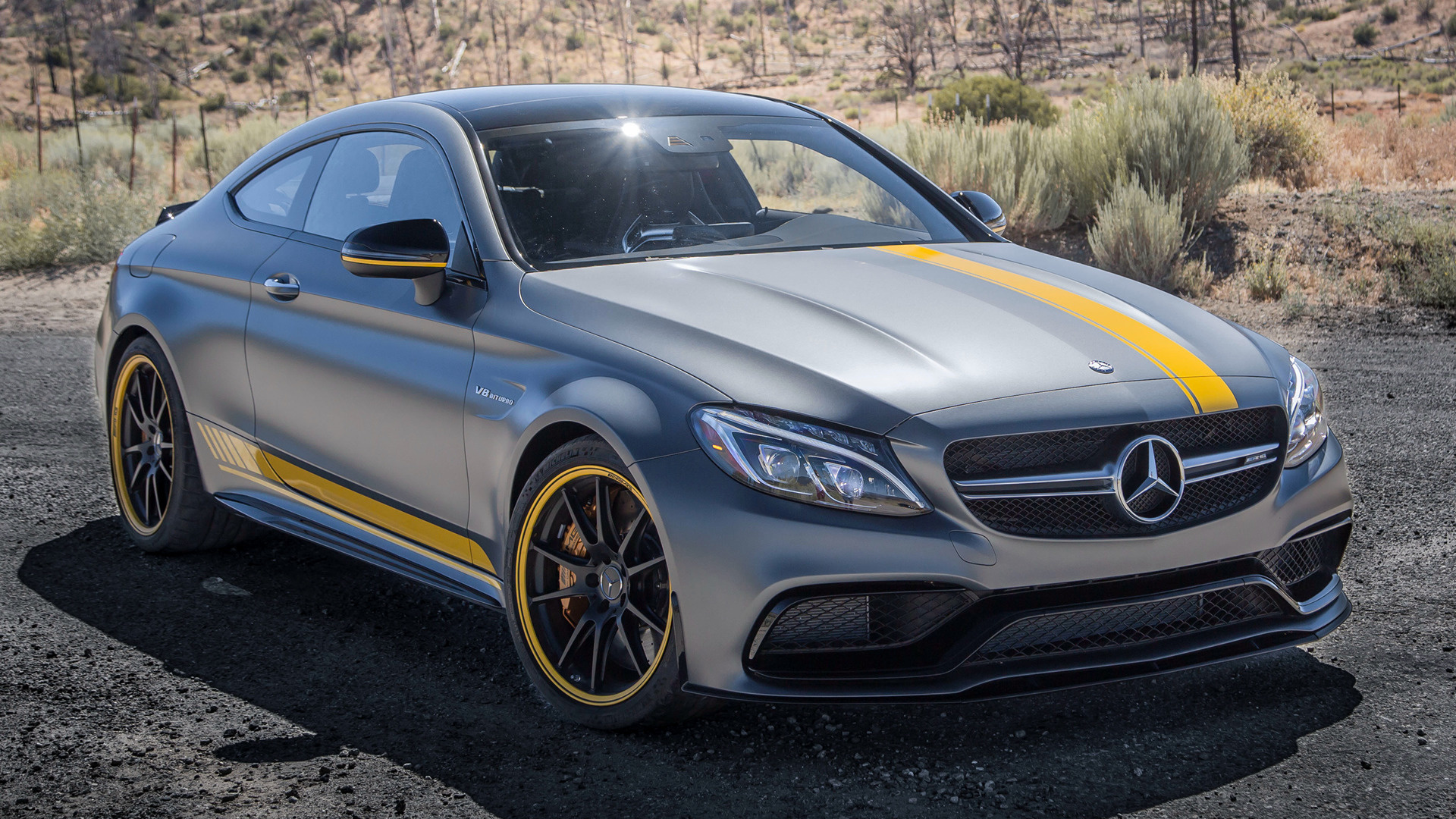Mercedes-AMG C 63 S Coupe Edition 1 (2017) US Wallpapers and HD ...