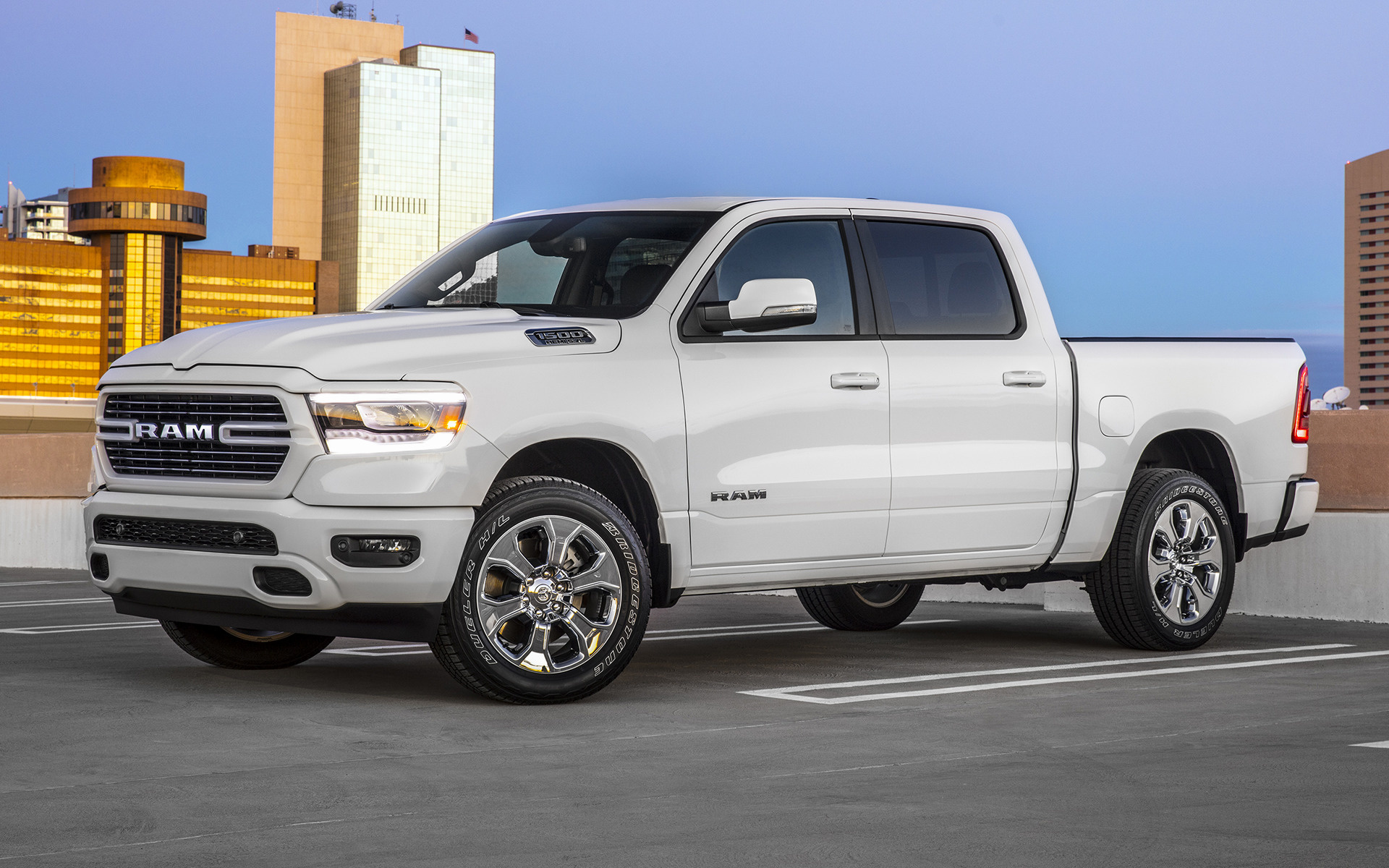Ram Big Horn Crew Cab Sport Appearance Package Short Car Wallpaper