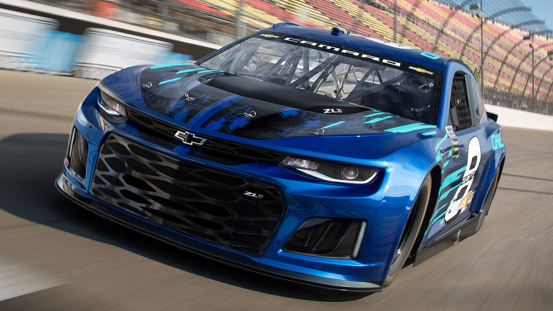 Chevrolet Camaro Zl1 Nascar Cup Series 2018 Wallpapers
