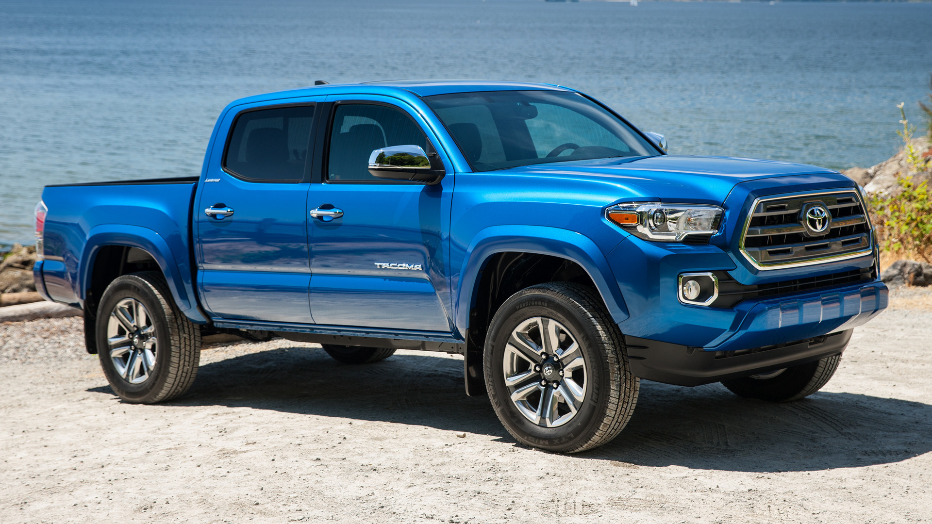 2016 Toyota Tacoma Limited Double Cab - Wallpapers and HD ...