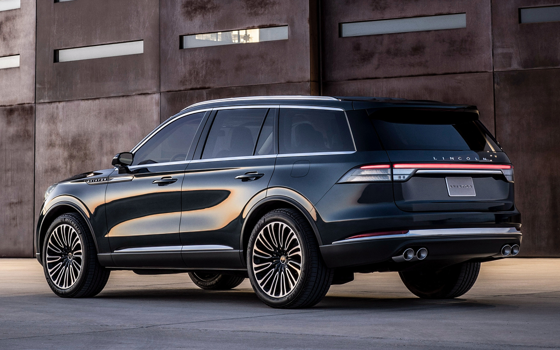 2018 Lincoln Aviator Prototype - Wallpapers and HD Images | Car Pixel