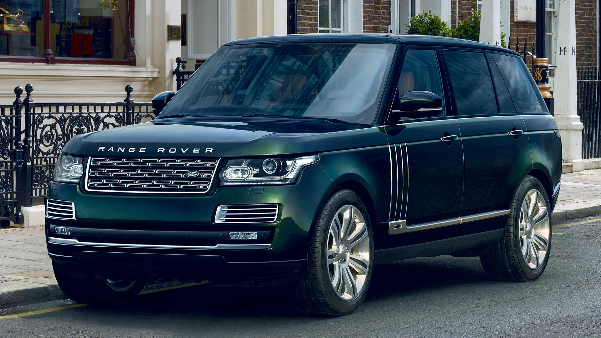 Range Rover Autobiography Black Holland & Holland (2015 ...