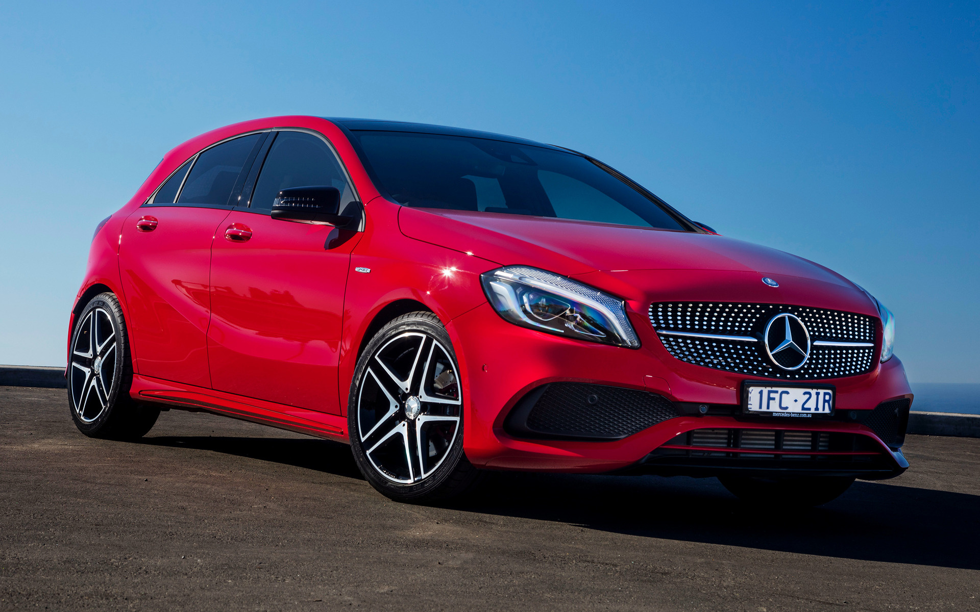 2016 Mercedes-Benz A-Class Sport (AU) - Wallpapers and HD Images | Car Pixel