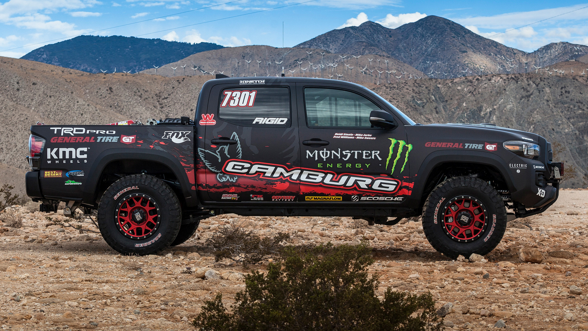 Trd Pro Tundra >> Toyota Tacoma TRD Pro Race Truck (2016) Wallpapers and HD ...