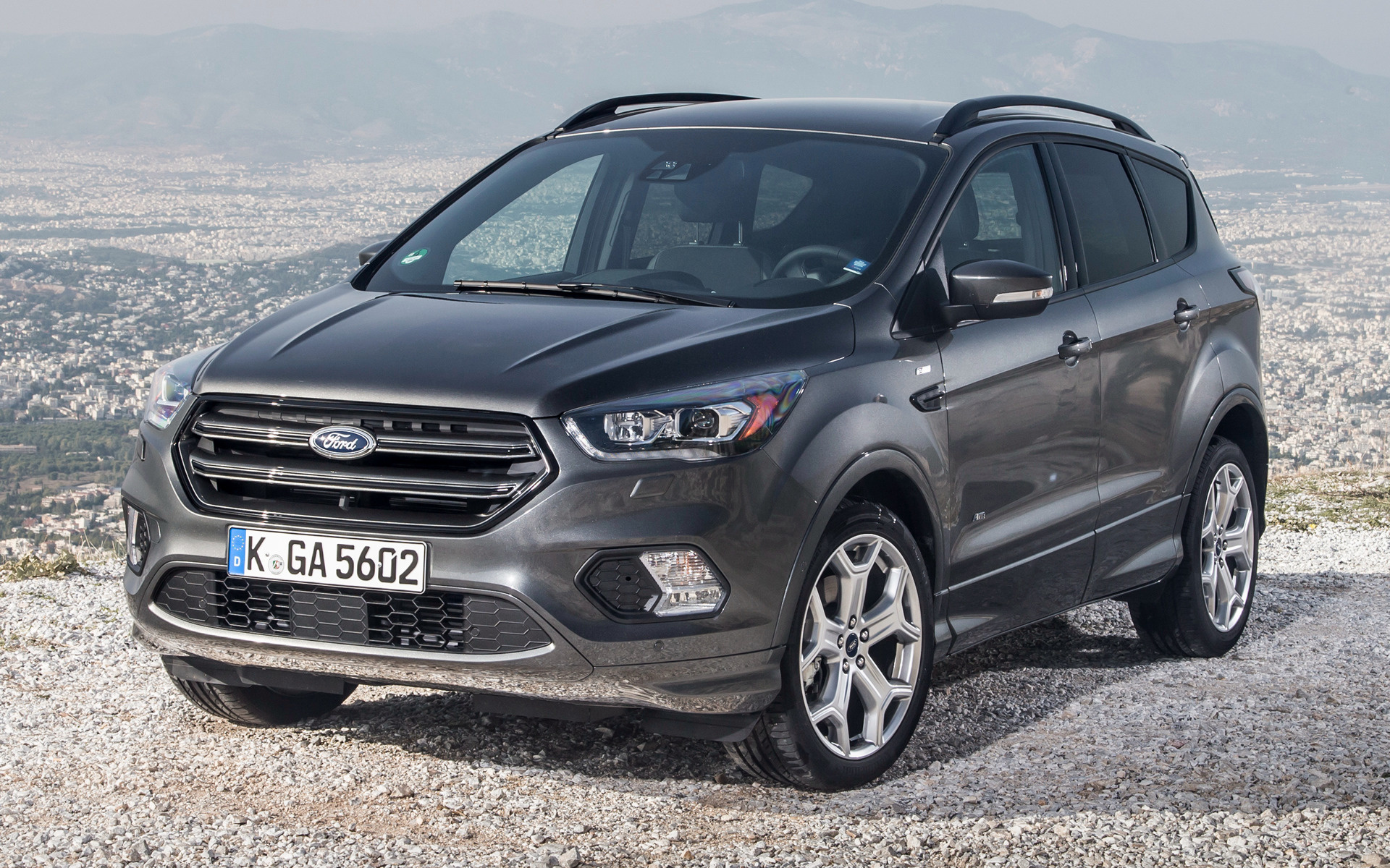 2016 ford kuga st line wallpapers and hd images car pixel. Black Bedroom Furniture Sets. Home Design Ideas