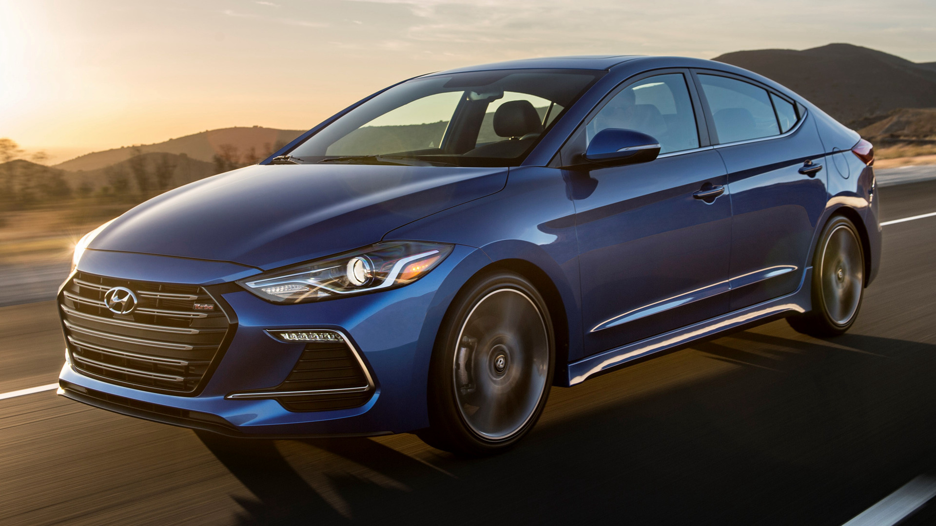 2017 Dodge Ram >> 2017 Hyundai Elantra Sport (US) - Wallpapers and HD Images ...