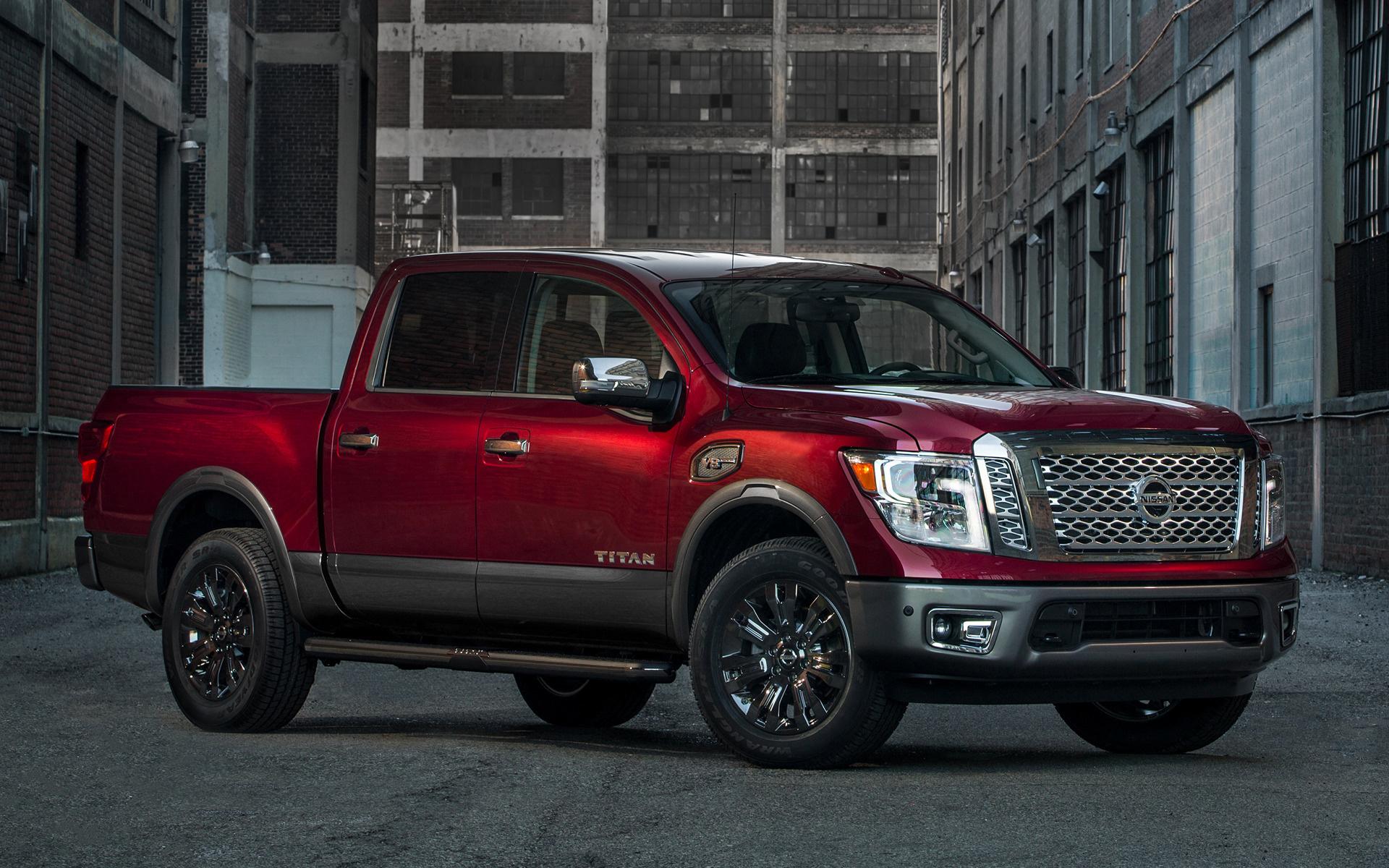 2017 Dodge Ram >> 2017 Nissan Titan Platinum Reserve Crew Cab - Wallpapers and HD Images | Car Pixel