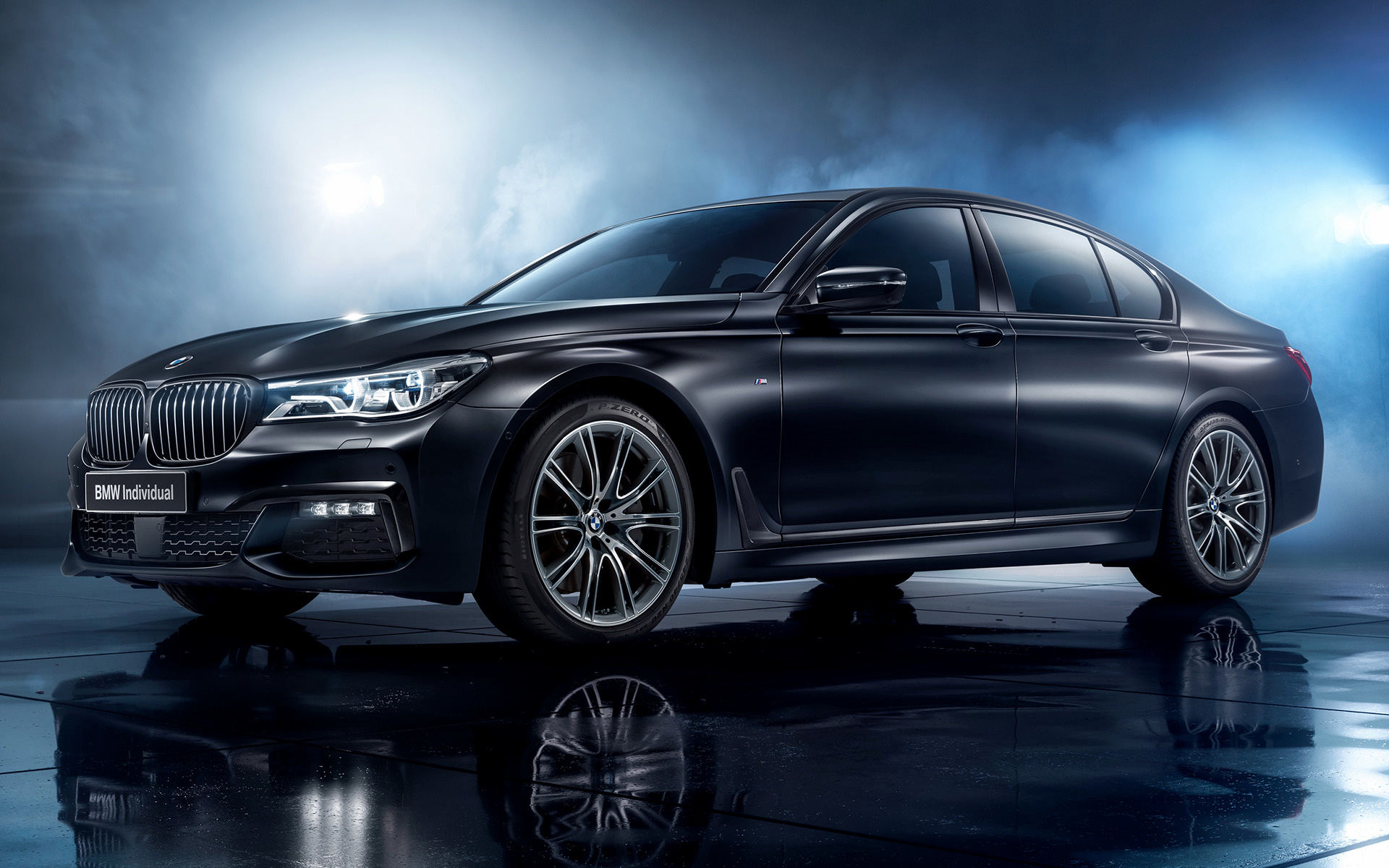2017 Bmw 7 Series Black Ice Edition Ru Wallpapers And