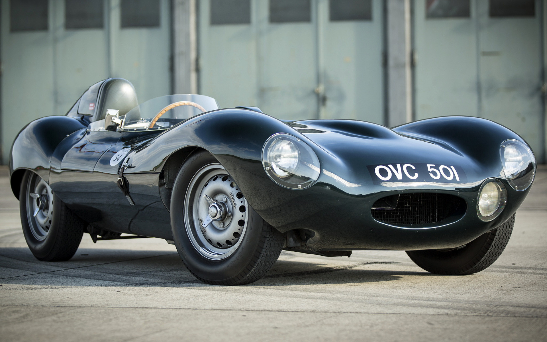 Who Makes Cadillac >> Jaguar D-Type Prototype (1954) Wallpapers and HD Images ...