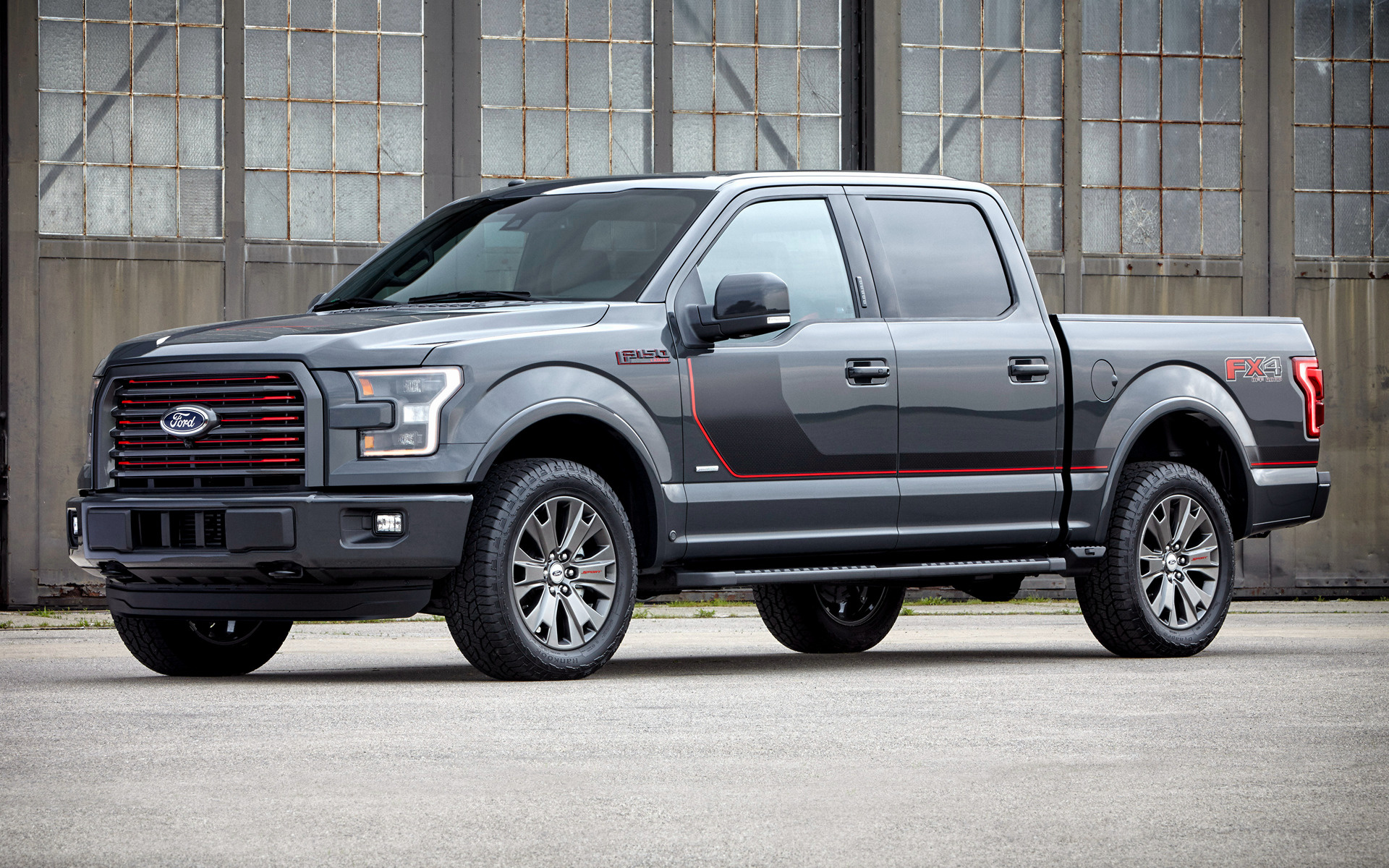 2016 Ford F-150 Lariat FX4 SuperCrew Appearance Package - Wallpapers and HD Images | Car Pixel
