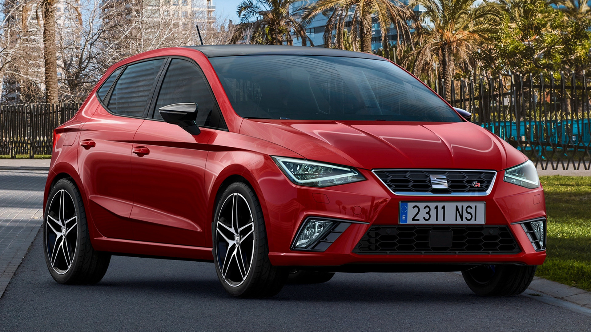 seat ibiza fr 2017 wallpapers and hd images car pixel. Black Bedroom Furniture Sets. Home Design Ideas