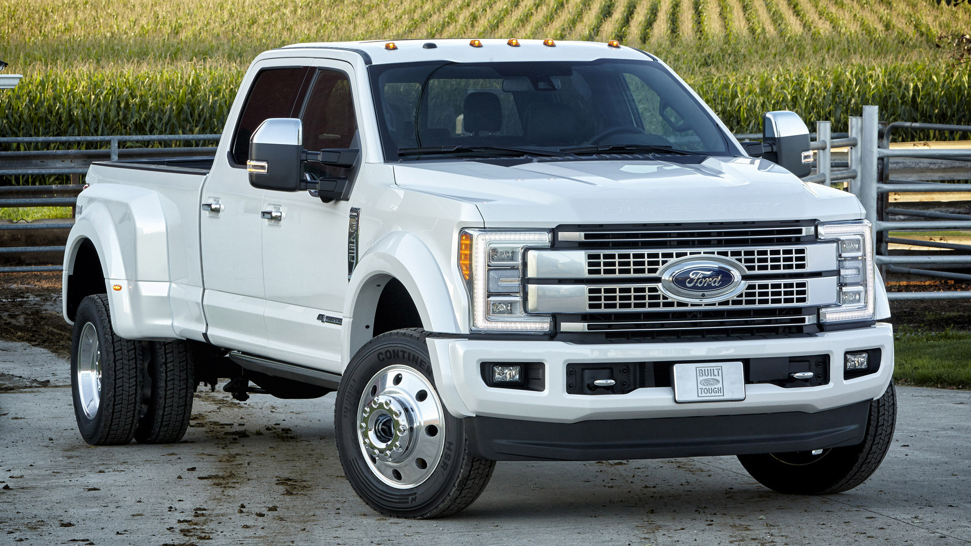 Ford F 450 Platinum Crew Cab 2017 Wallpapers And Hd