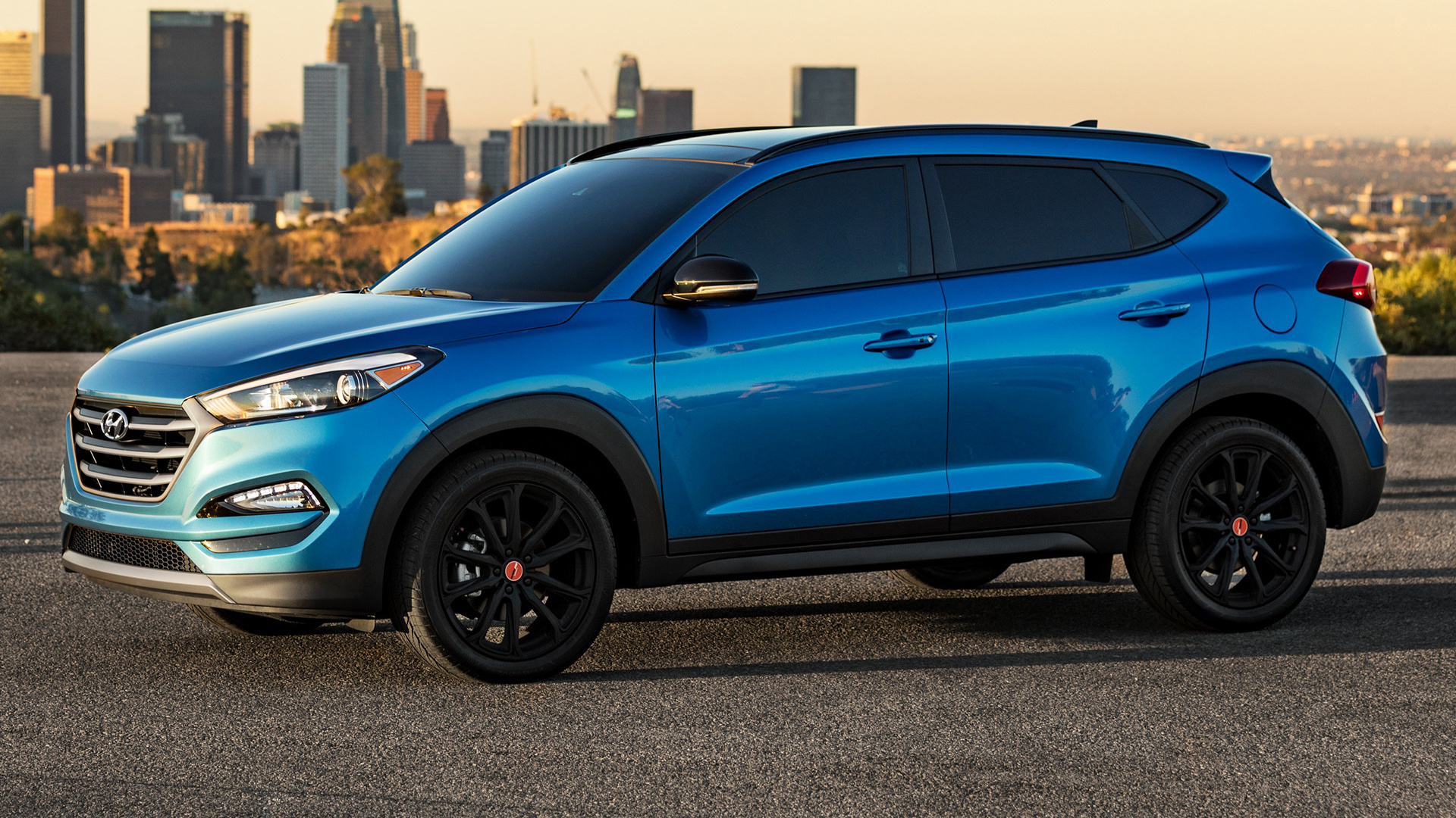 2017 hyundai tucson night us wallpapers and hd images. Black Bedroom Furniture Sets. Home Design Ideas