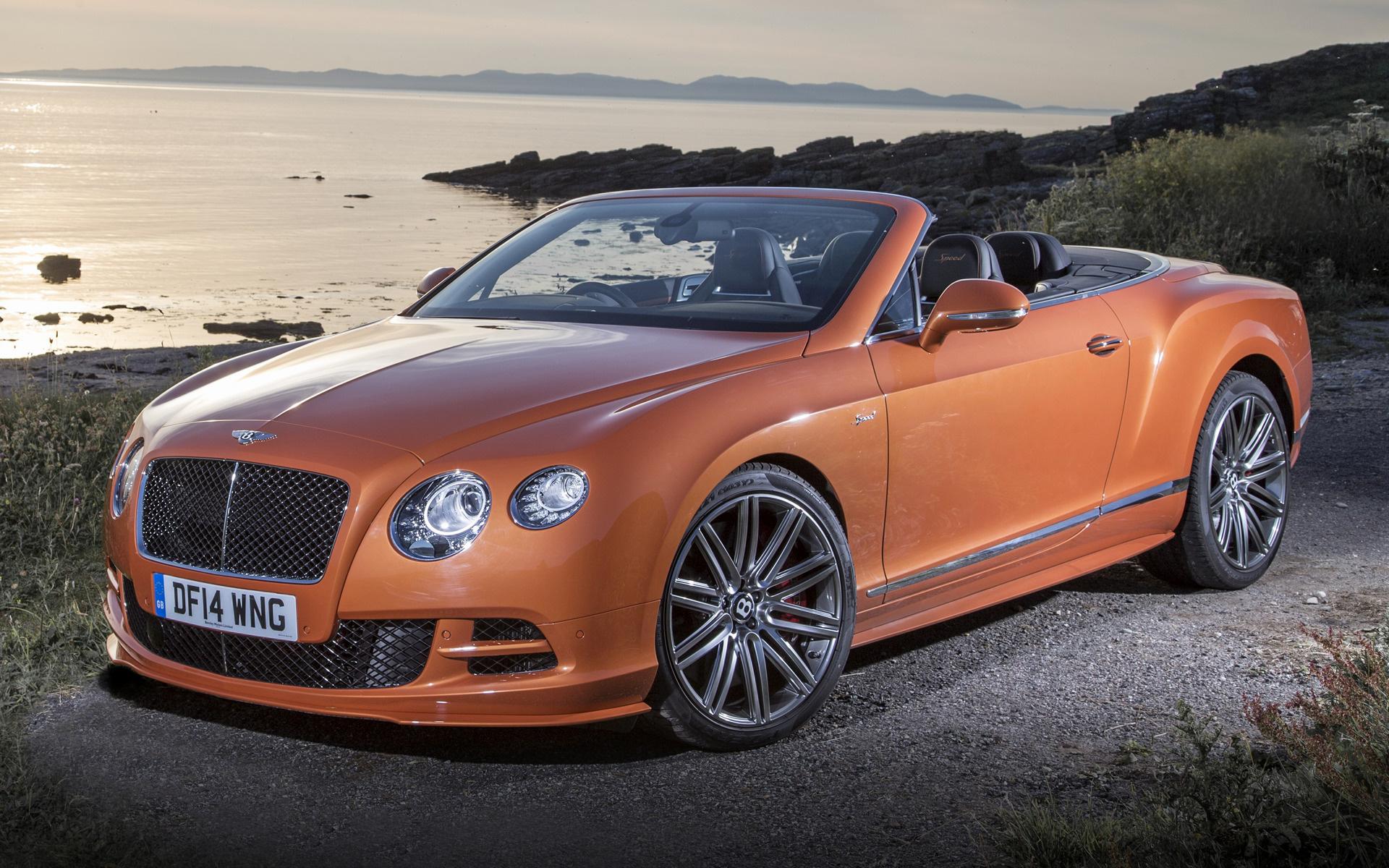 Bentley Continental Gt Speed Convertible 2014 Uk