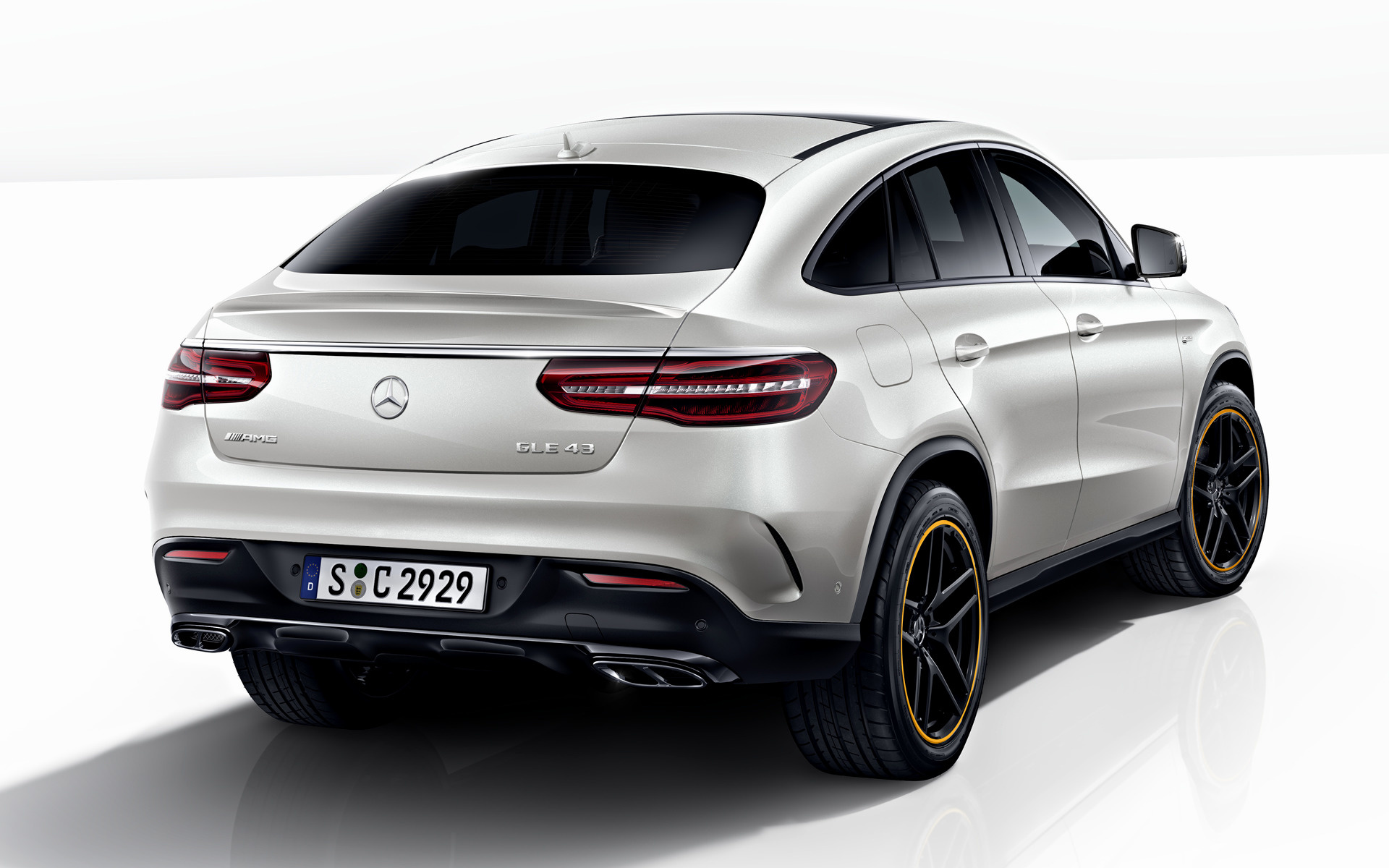 2017 Mercedes-AMG GLE 43 Coupe OrangeArt Edition - Wallpapers and HD Images | Car Pixel