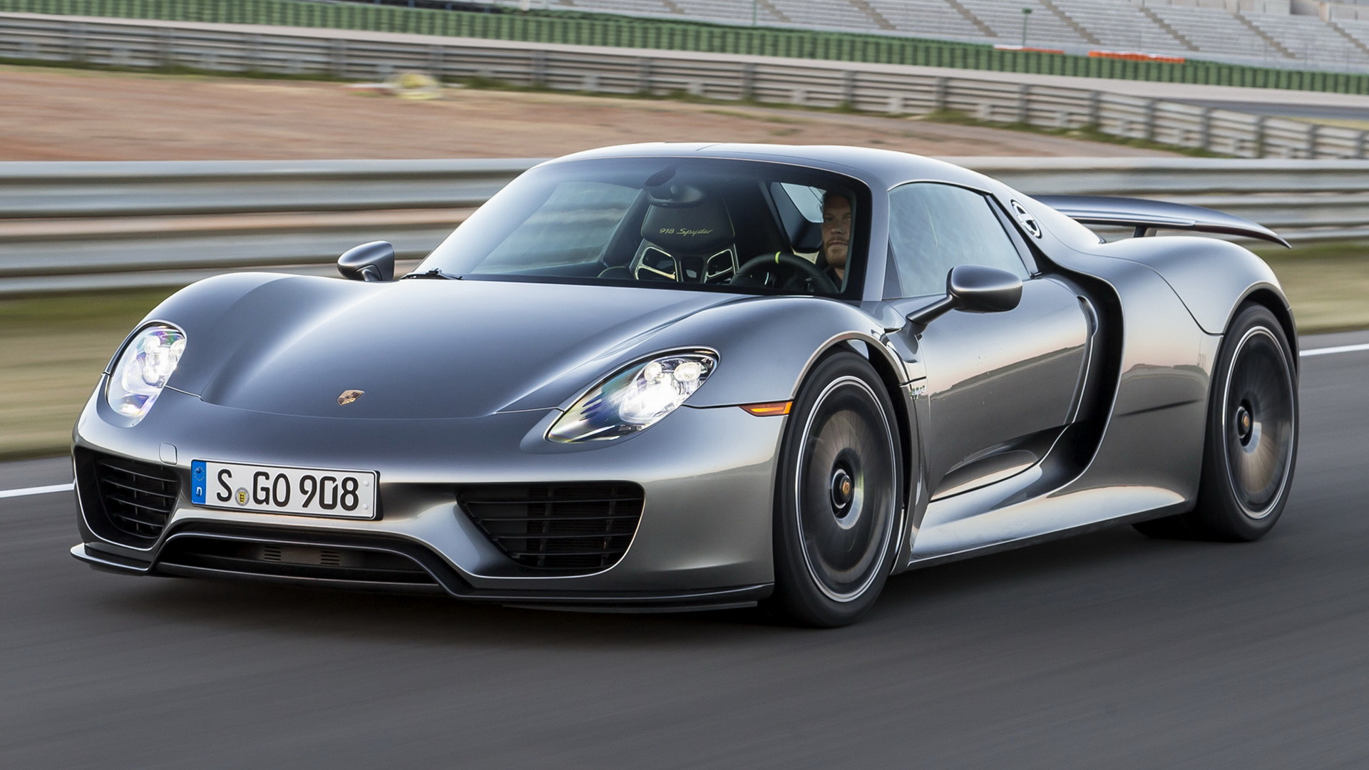 hd 169 wide 85 porsche 918 spyder - Porsche 918 Spyder Wallpaper