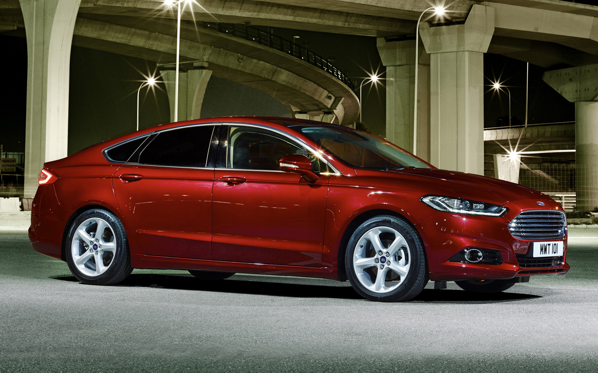 2014 Ford Mondeo Hatchback (UK)