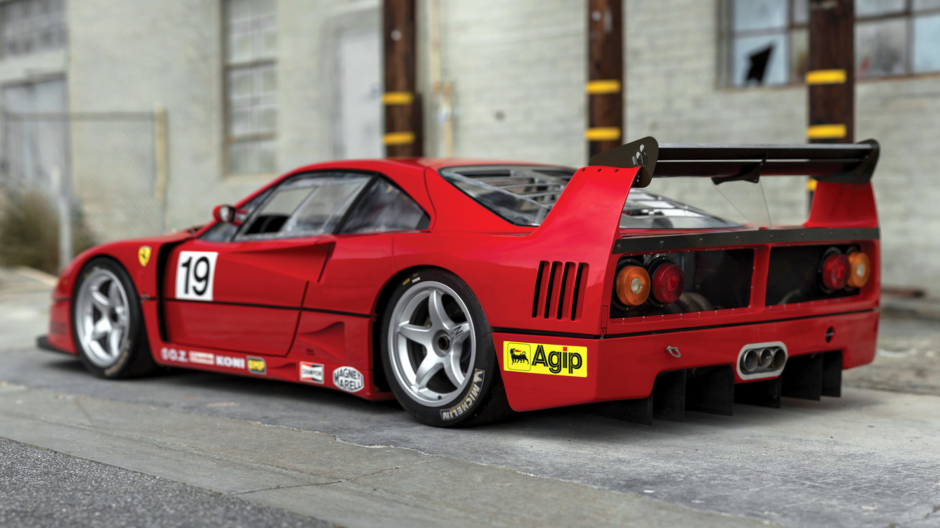 1993 Ferrari F40 Lm 97904 Wallpapers And Hd Images Car Pixel
