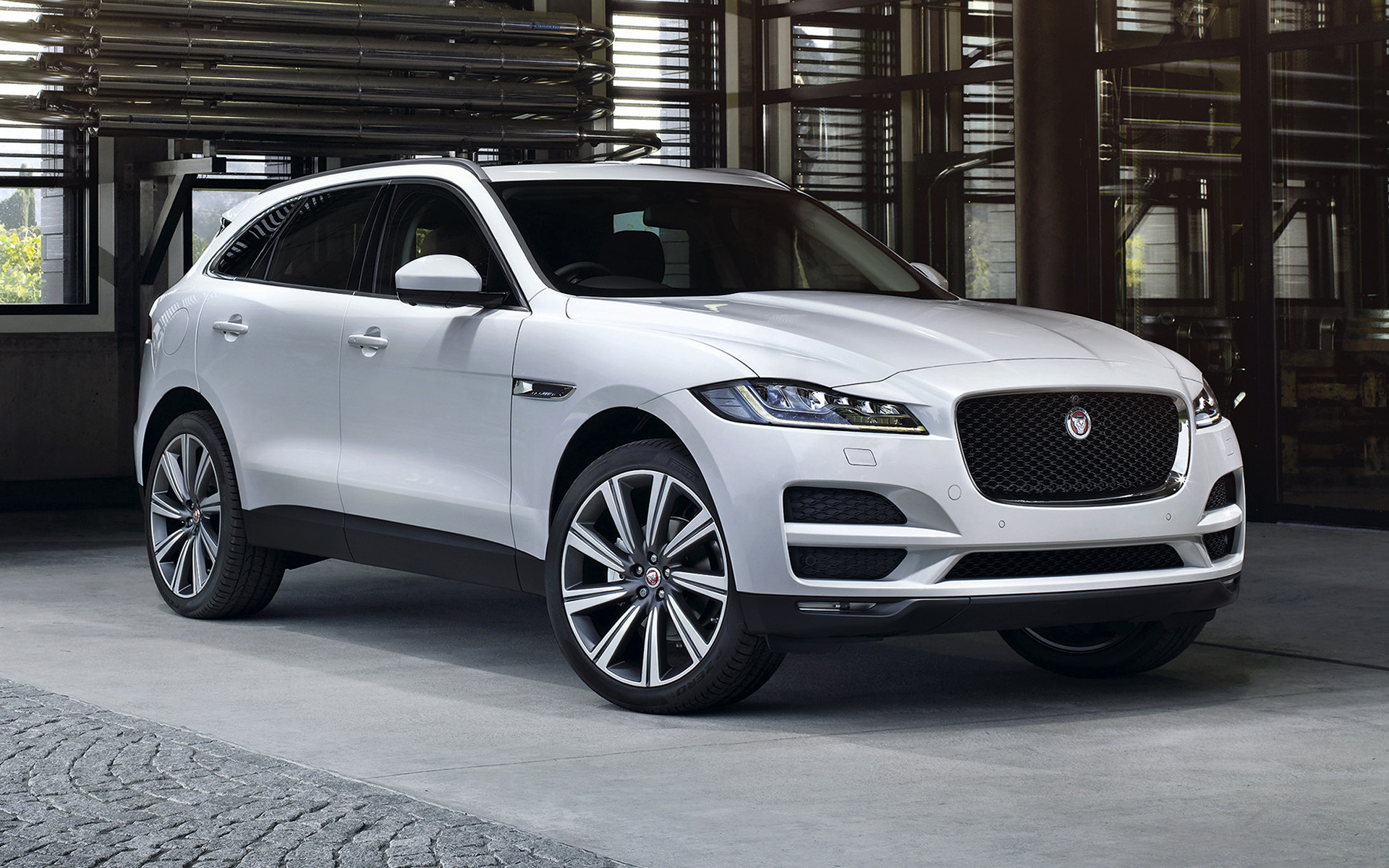 Jaguar F Pace Car Wallpaper
