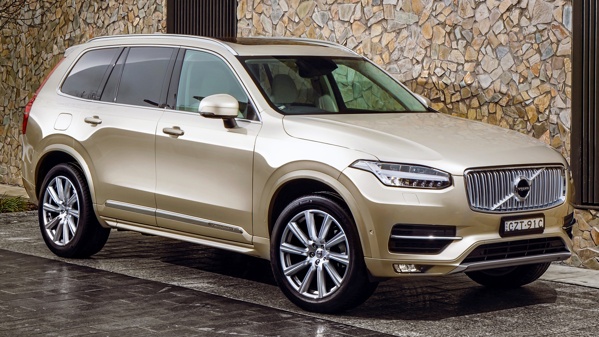 volvo xc90 inscription 2015 au wallpapers and hd images car pixel. Black Bedroom Furniture Sets. Home Design Ideas