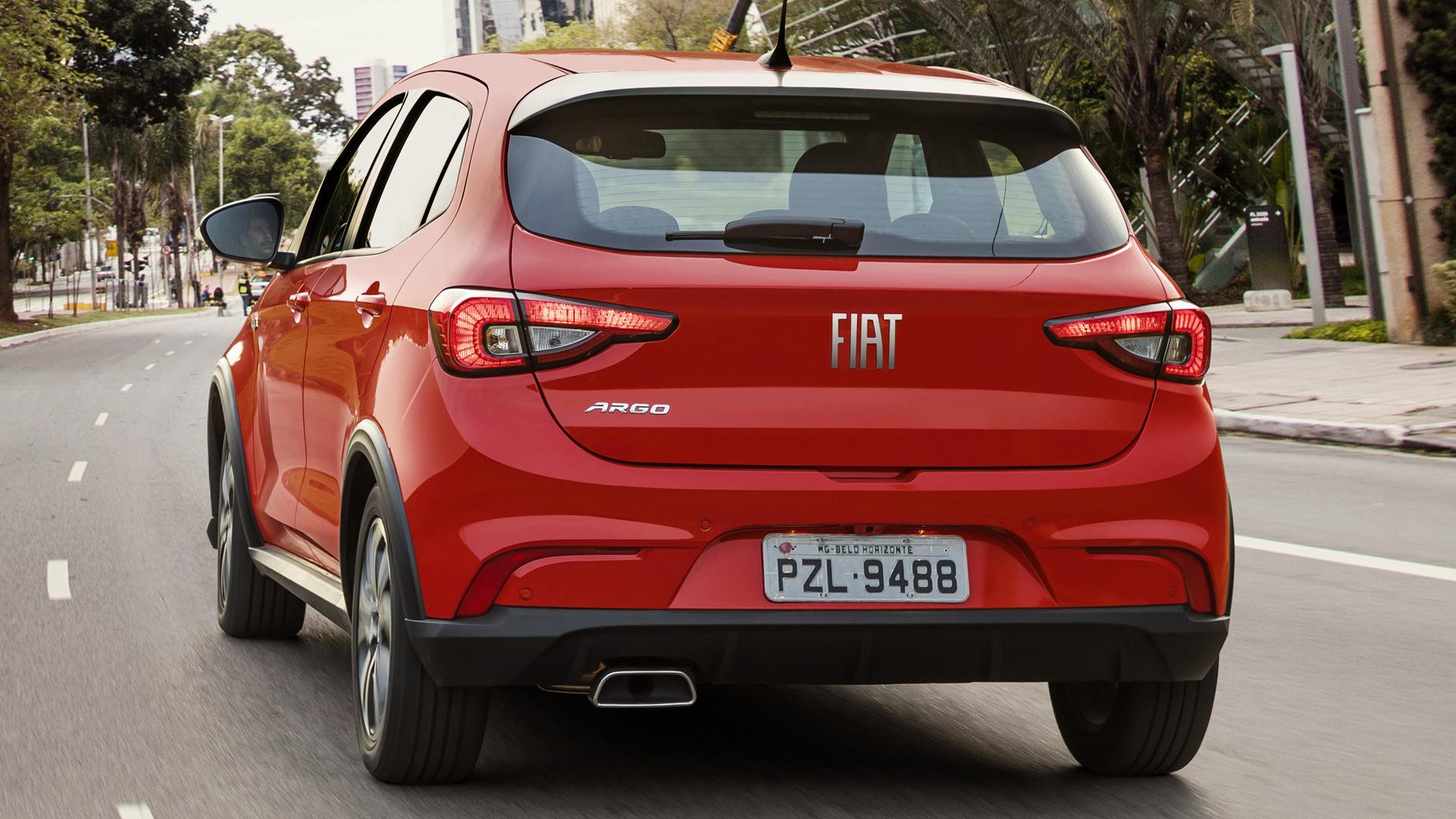 2017 Fiat Argo Hgt