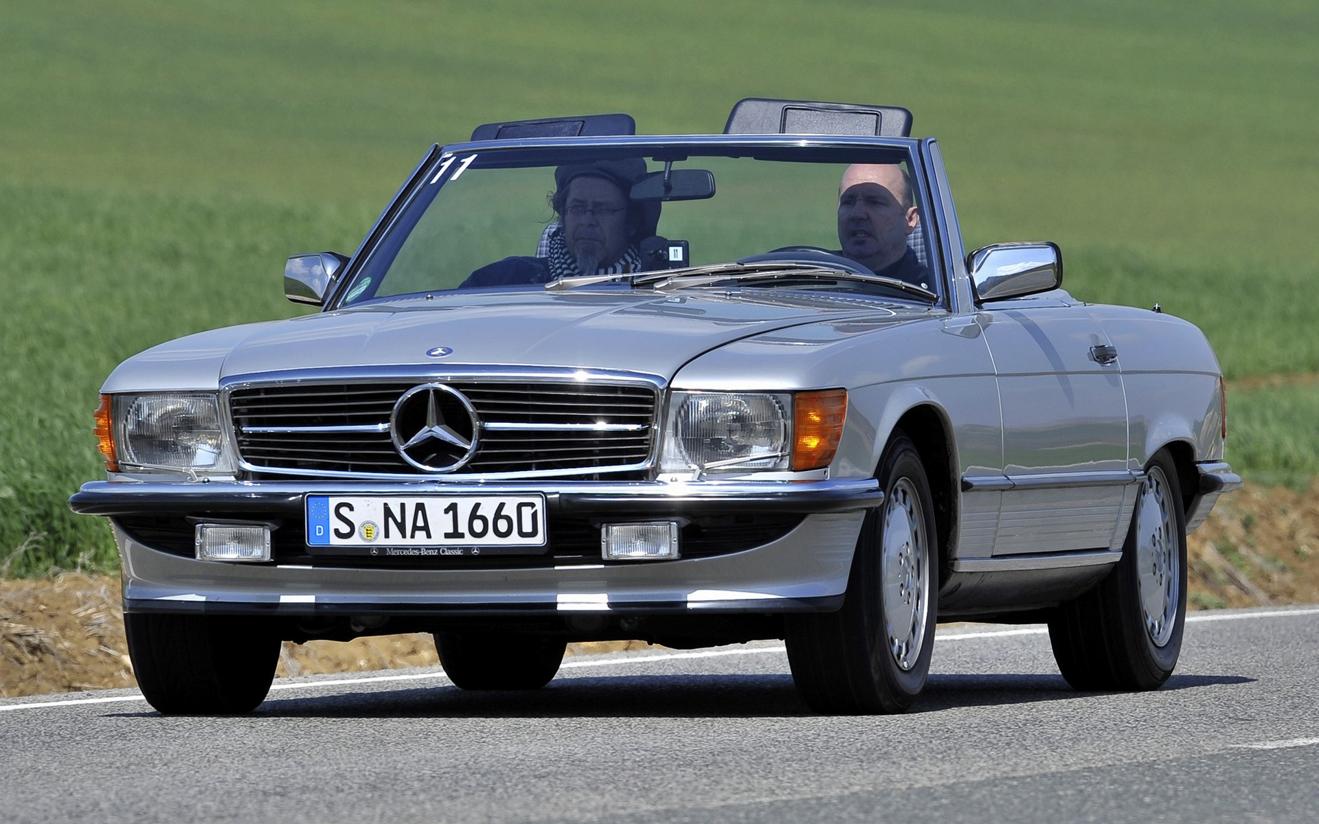 mercedes benz 500 sl 1985 wallpapers and hd images car. Black Bedroom Furniture Sets. Home Design Ideas
