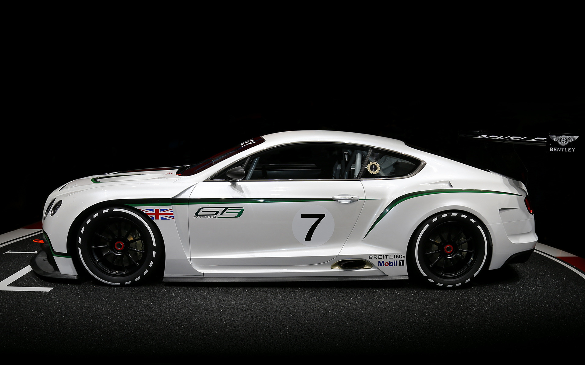 Bentley Continental GT3 Concept (2012) Wallpapers and HD Images - Car ...