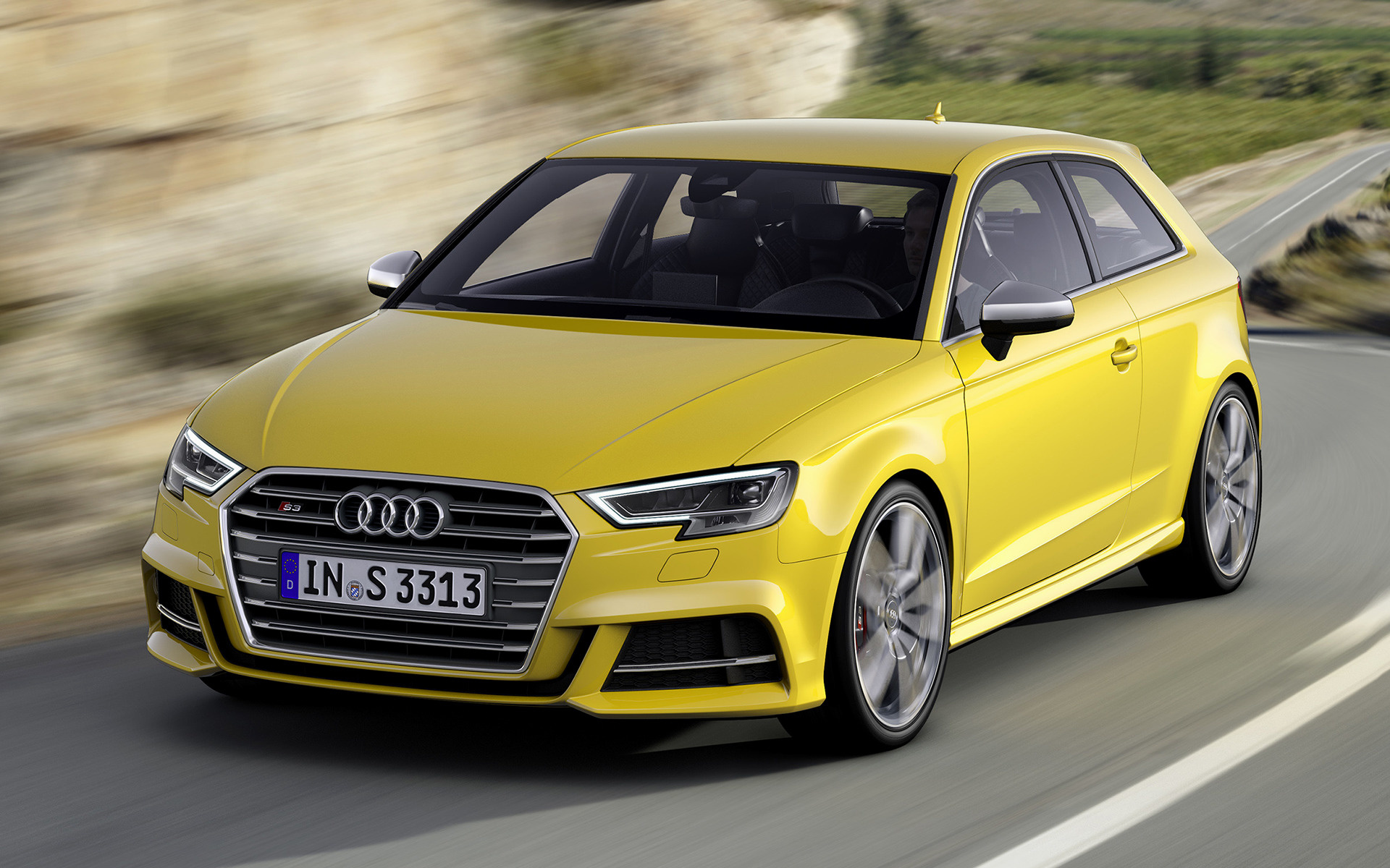 audi s3 2016 wallpapers and hd images car pixel. Black Bedroom Furniture Sets. Home Design Ideas