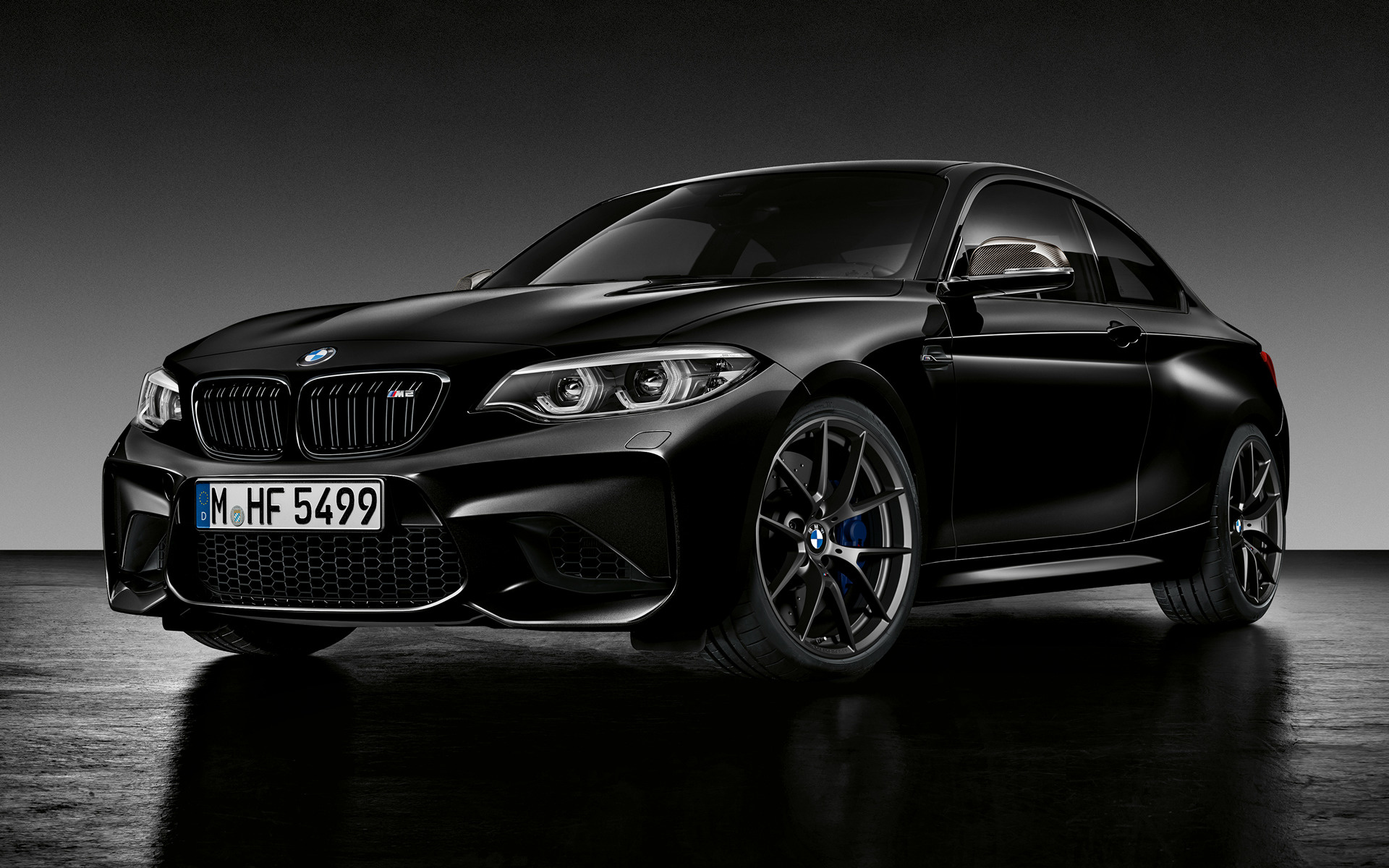 2018 Bmw M2 Coupe Black Shadow Edition Wallpapers And Hd Images Car Pixel